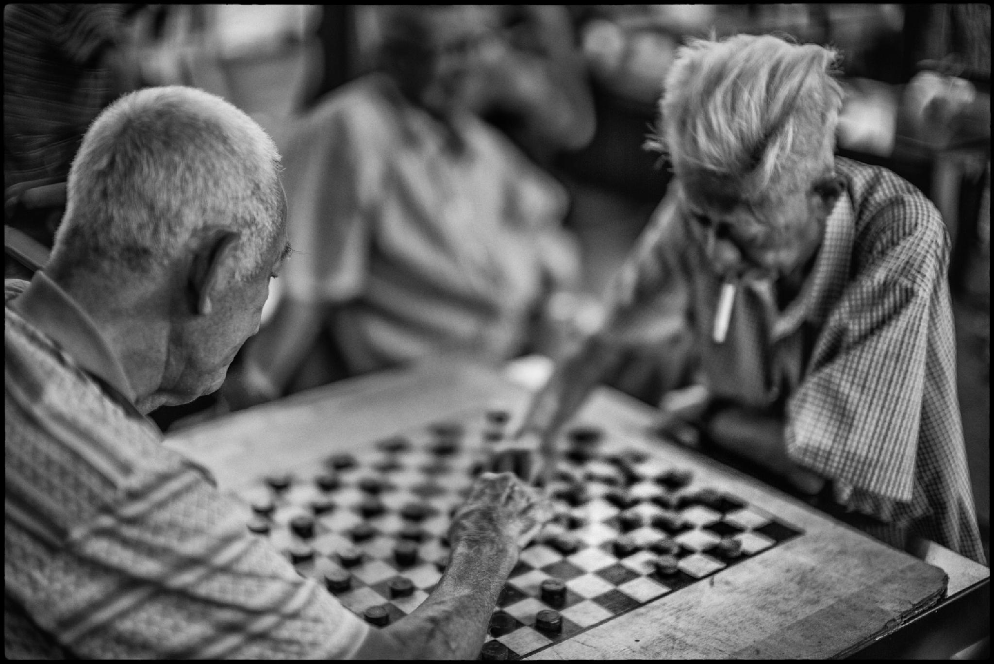 China Chess Match by Bob Chiu