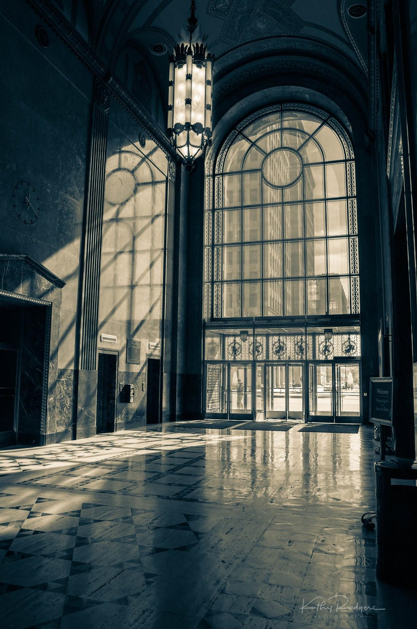 Fisher Building lobby by JanuaryFire