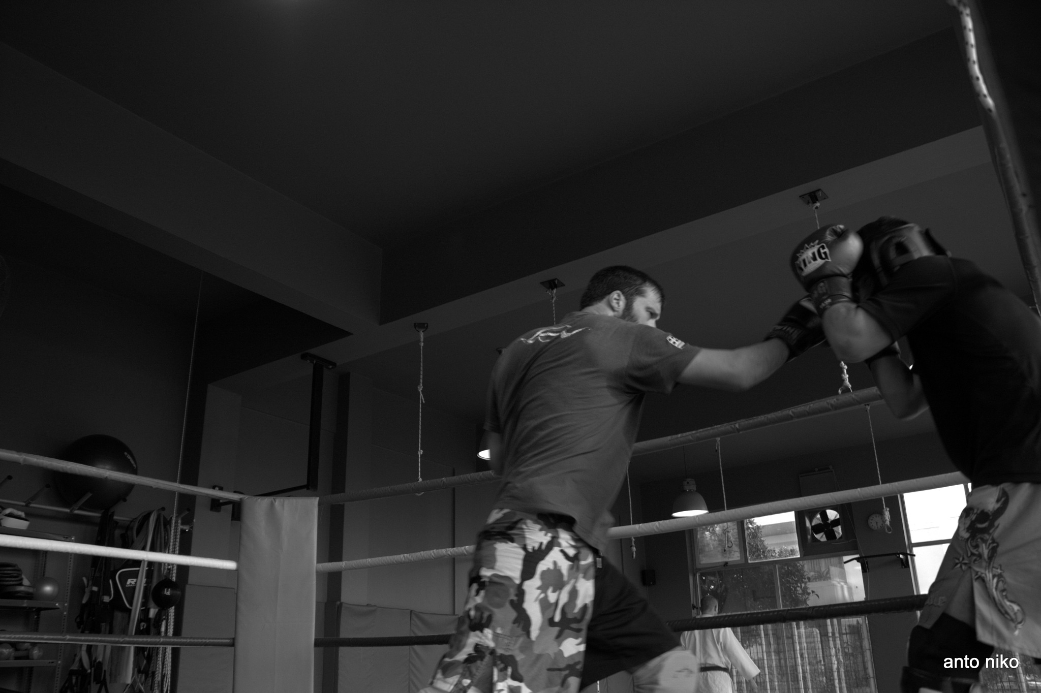 fighting!!! by peskandritsa
