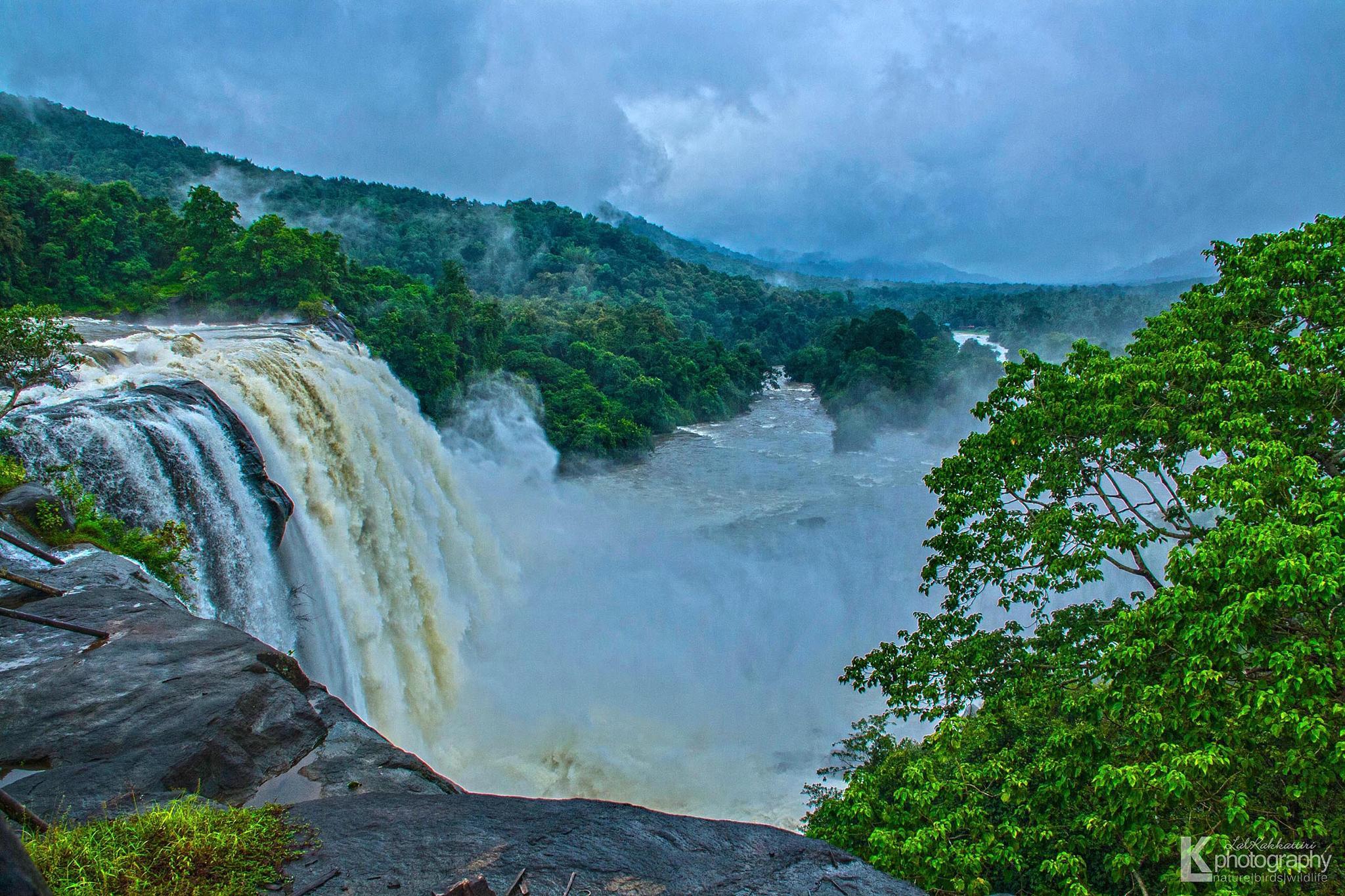 Athirappally Waterfalls  by lal.kakkattiri