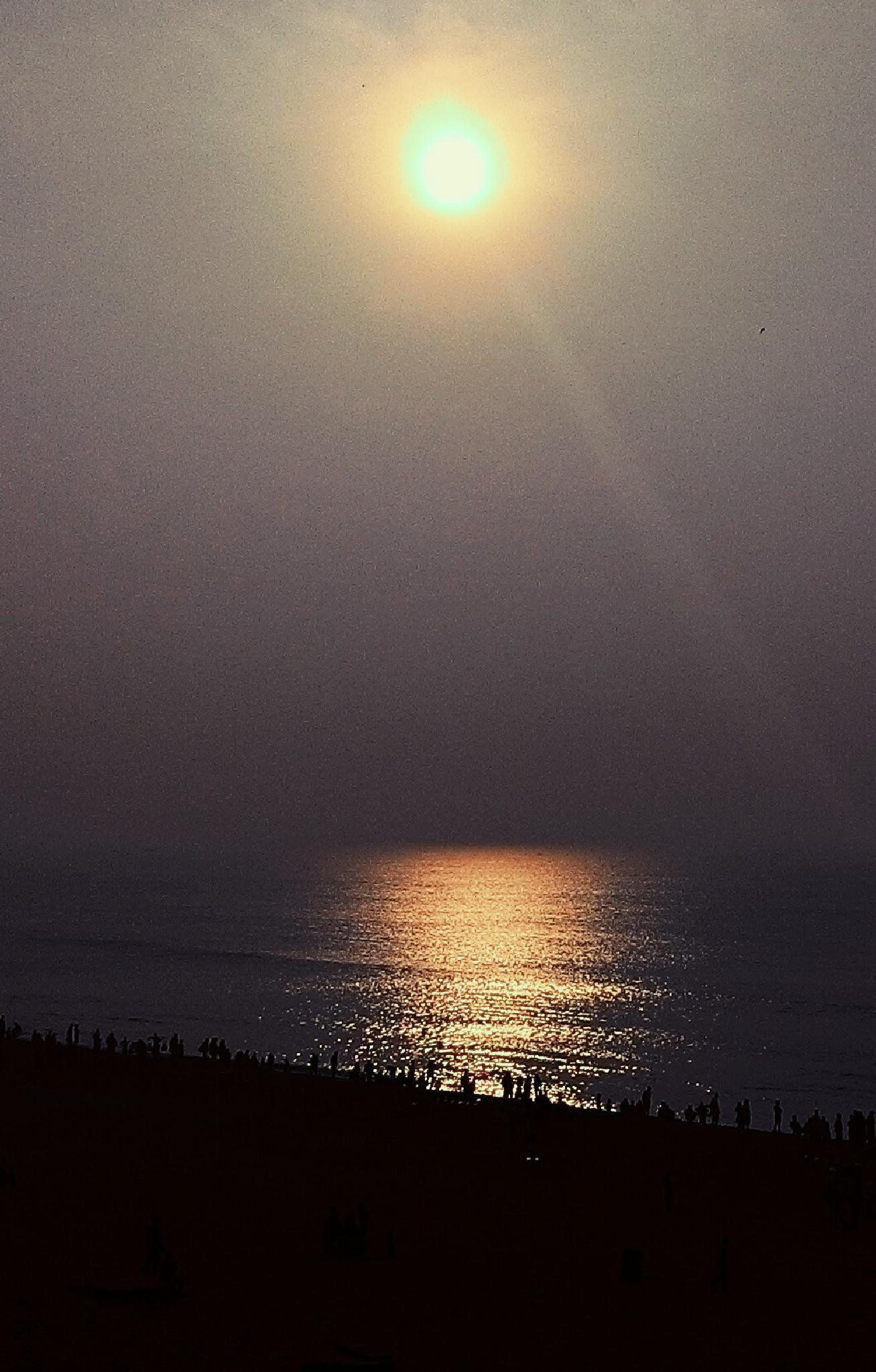 Sunset in puri by sayantan.bestfriend