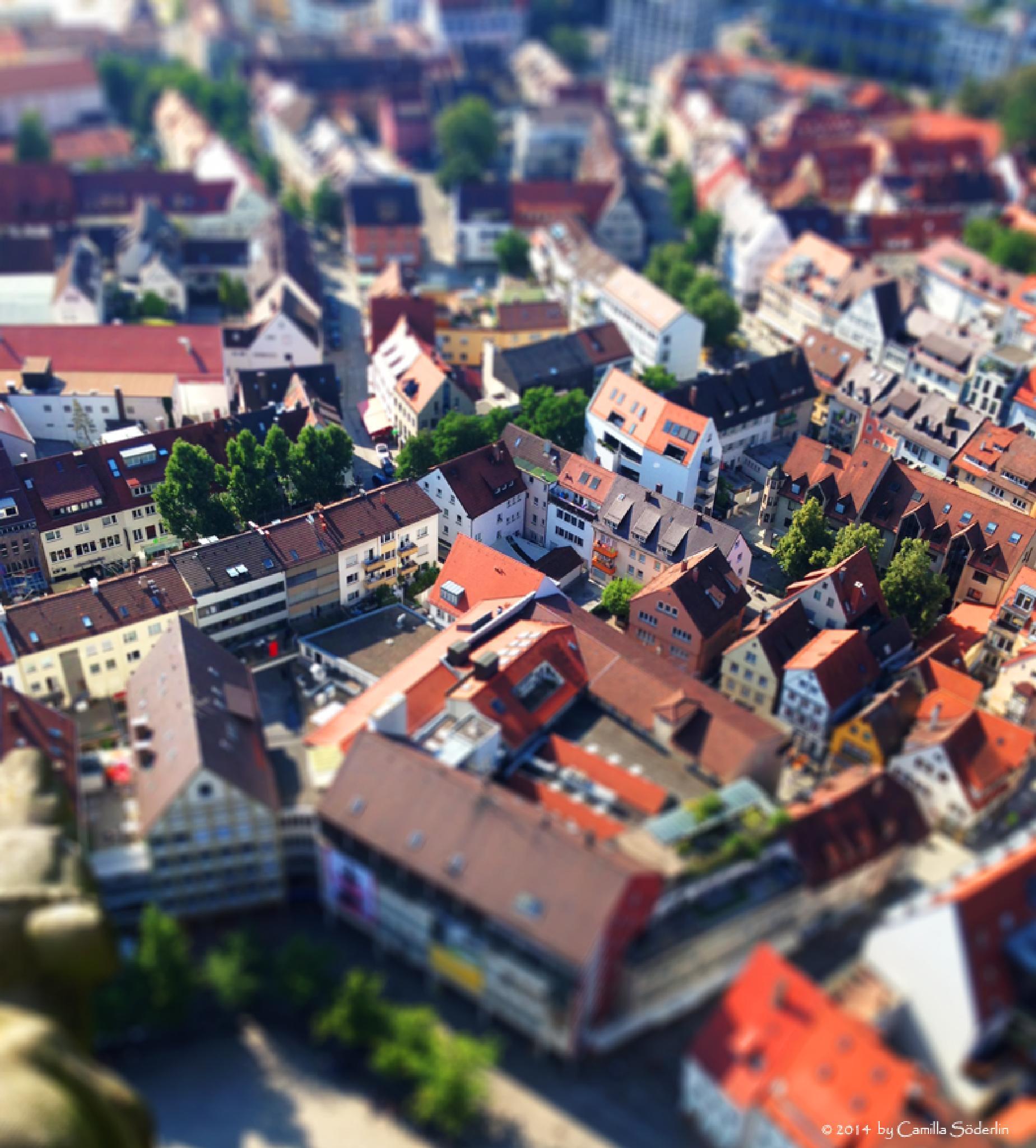 Ulm in miniature by Camilla Söderlin