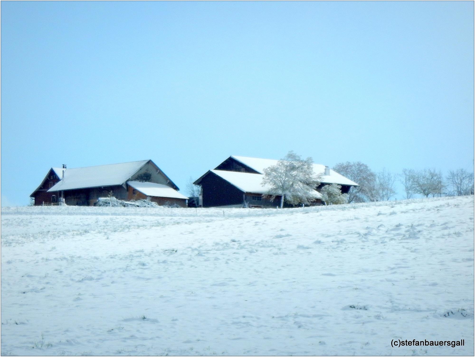 Photo in Landscape #snowfall #april