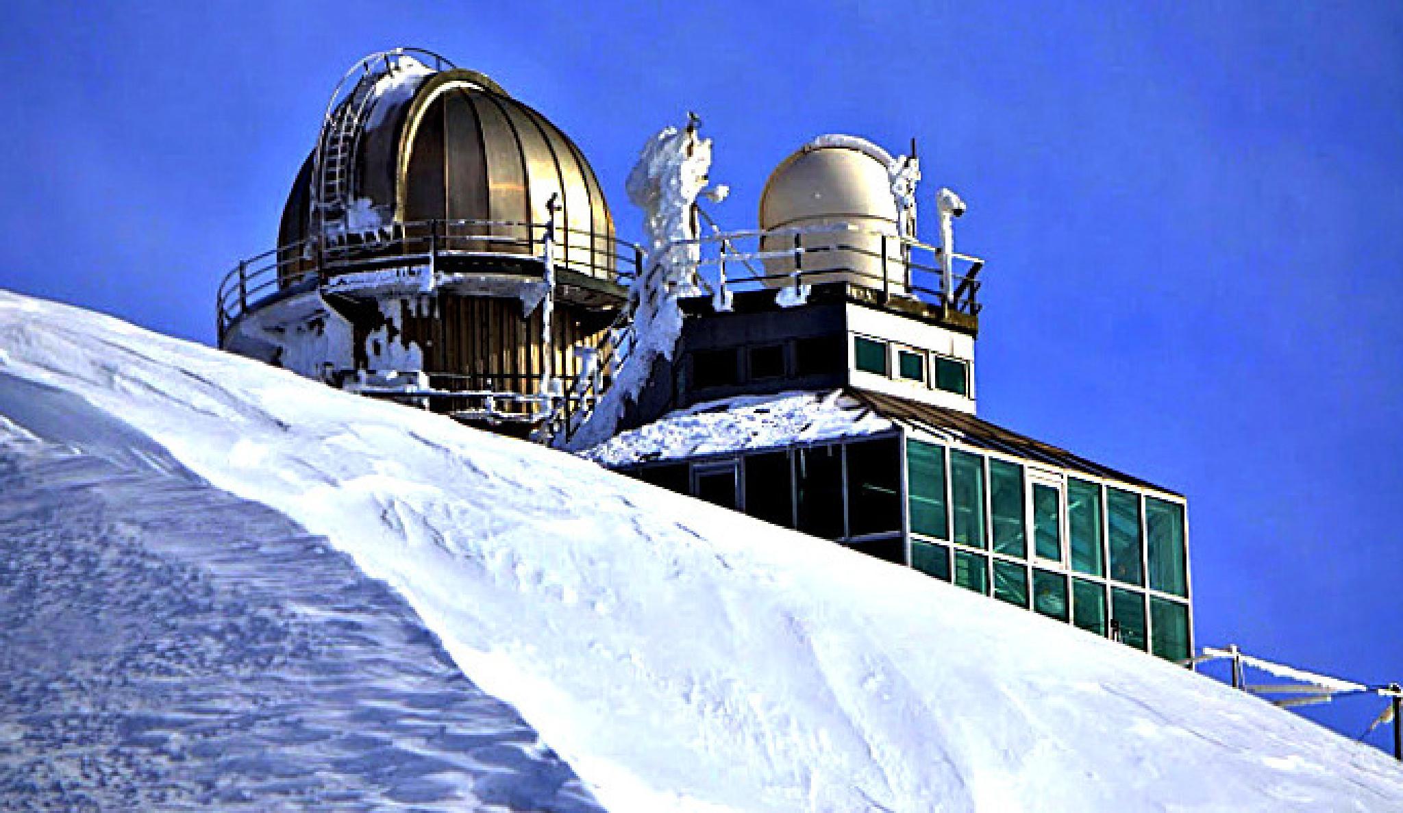 """Jungfrau-Joch;Planetarium."" by BauerStefan"