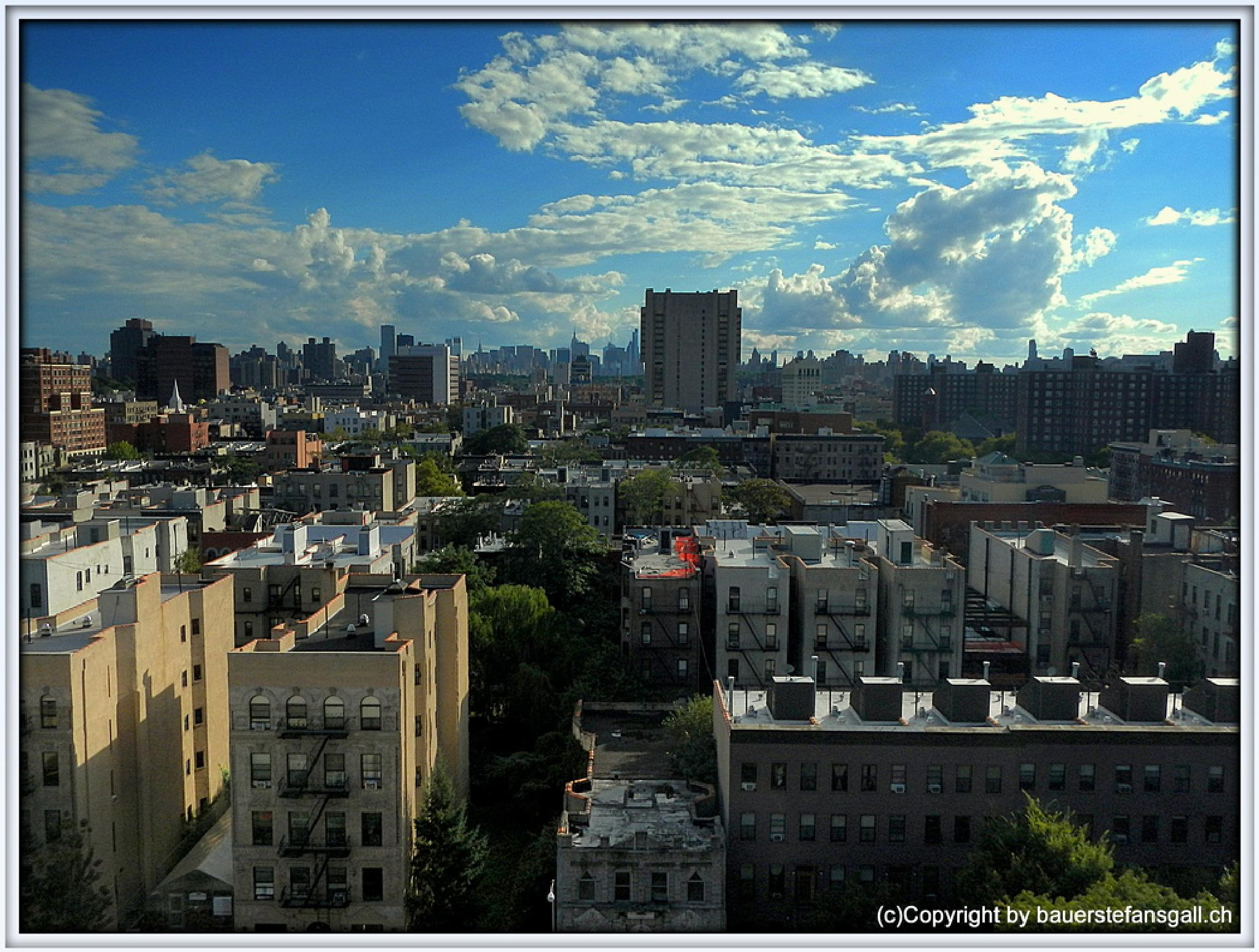 """nyc-look over harlem."" by BauerStefan"