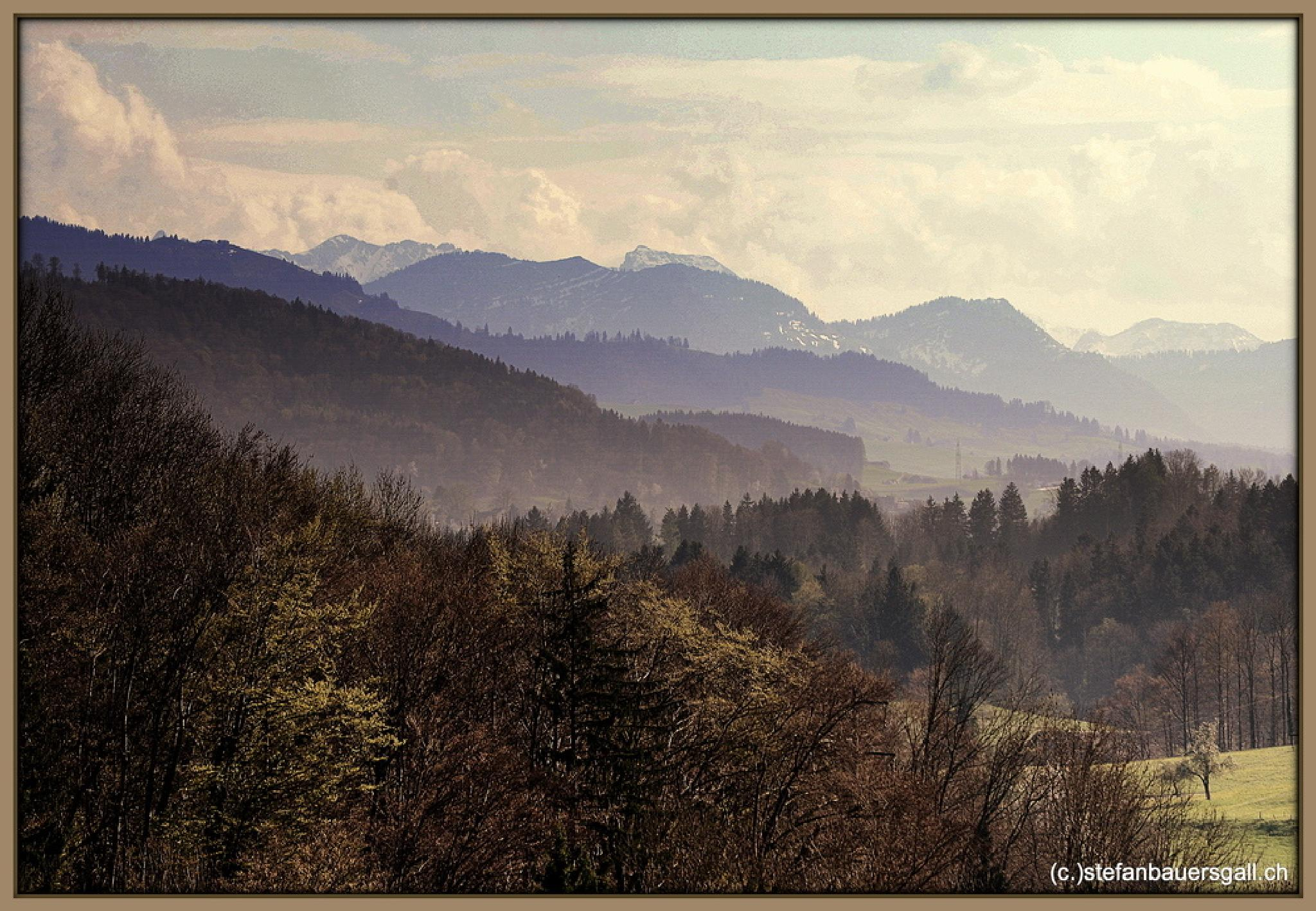 """land of hills."" by BauerStefan"