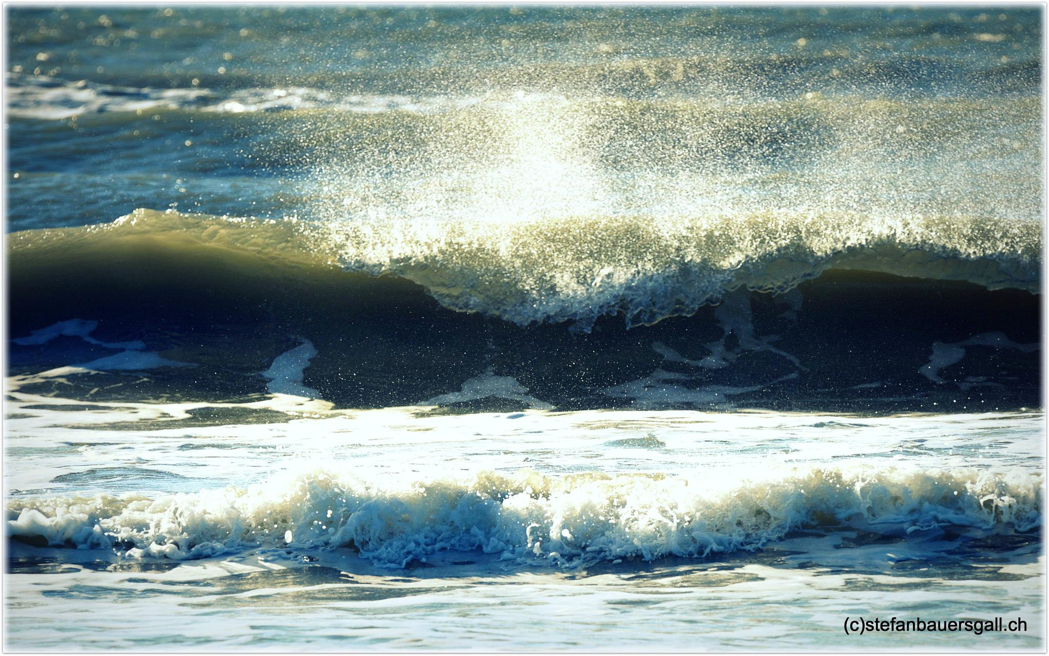 """""""wave against the wind."""" by BauerStefan"""