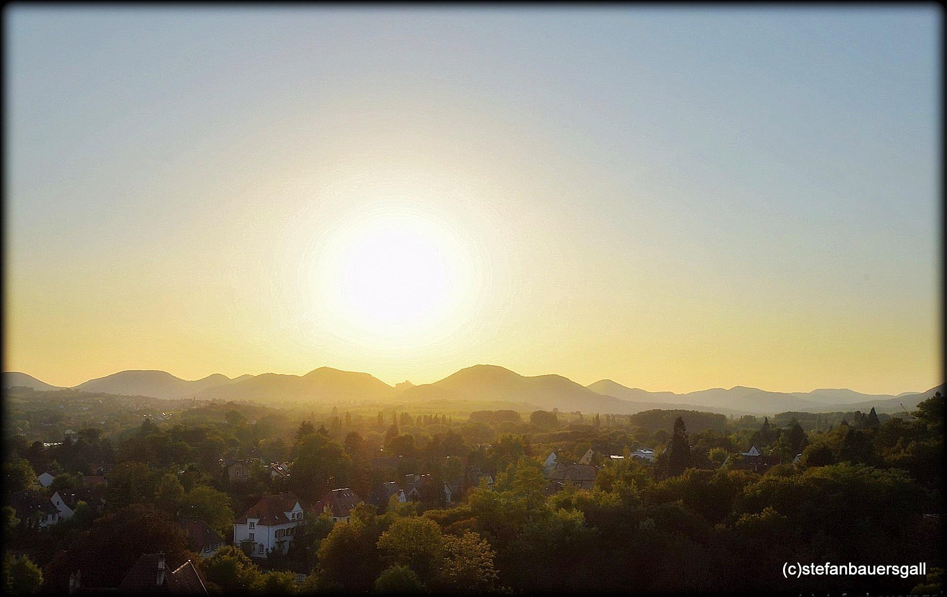 """view over landau;rheinpfalz"" by BauerStefan"