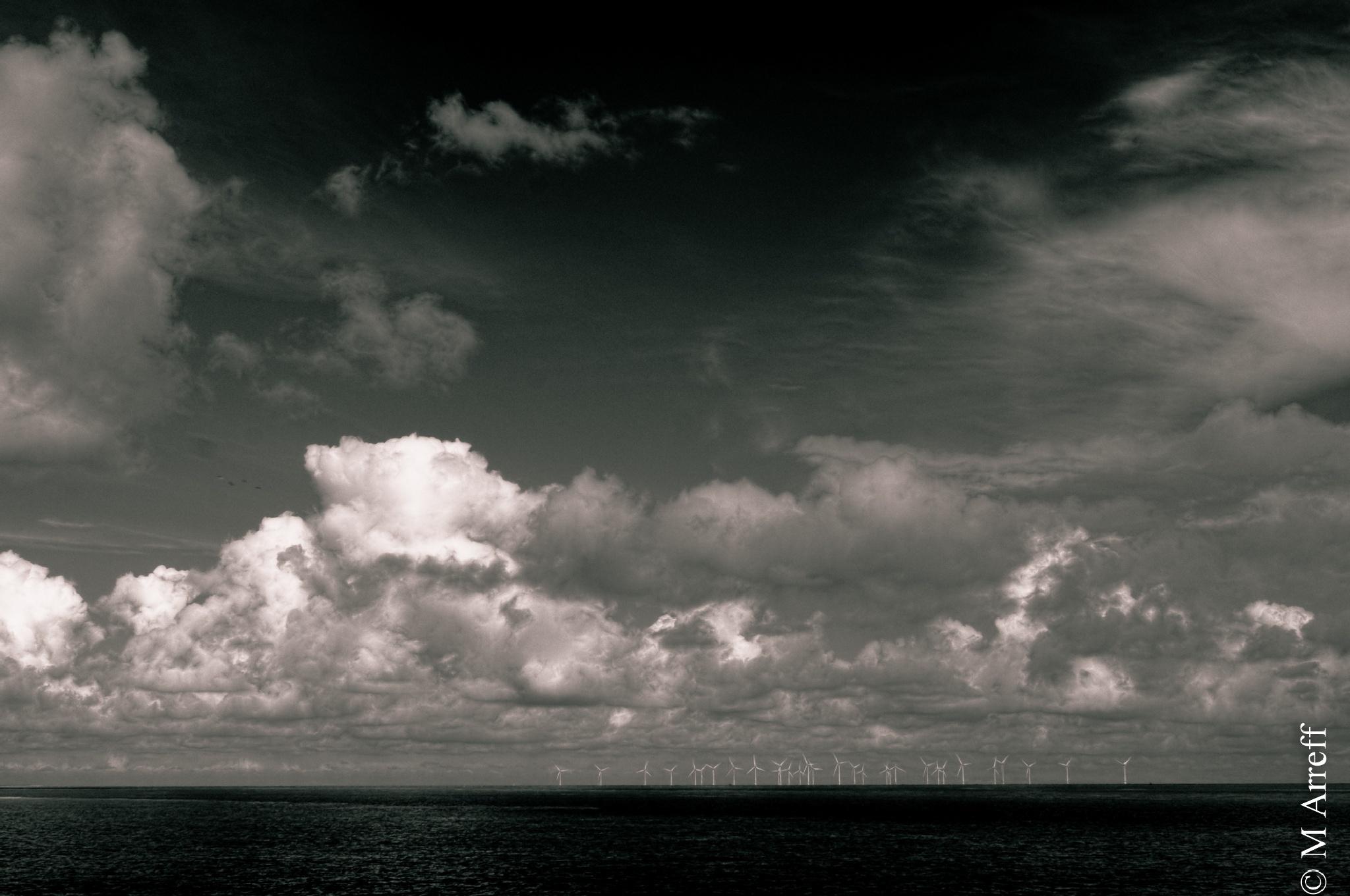 Windfarm... by Mike Arreff