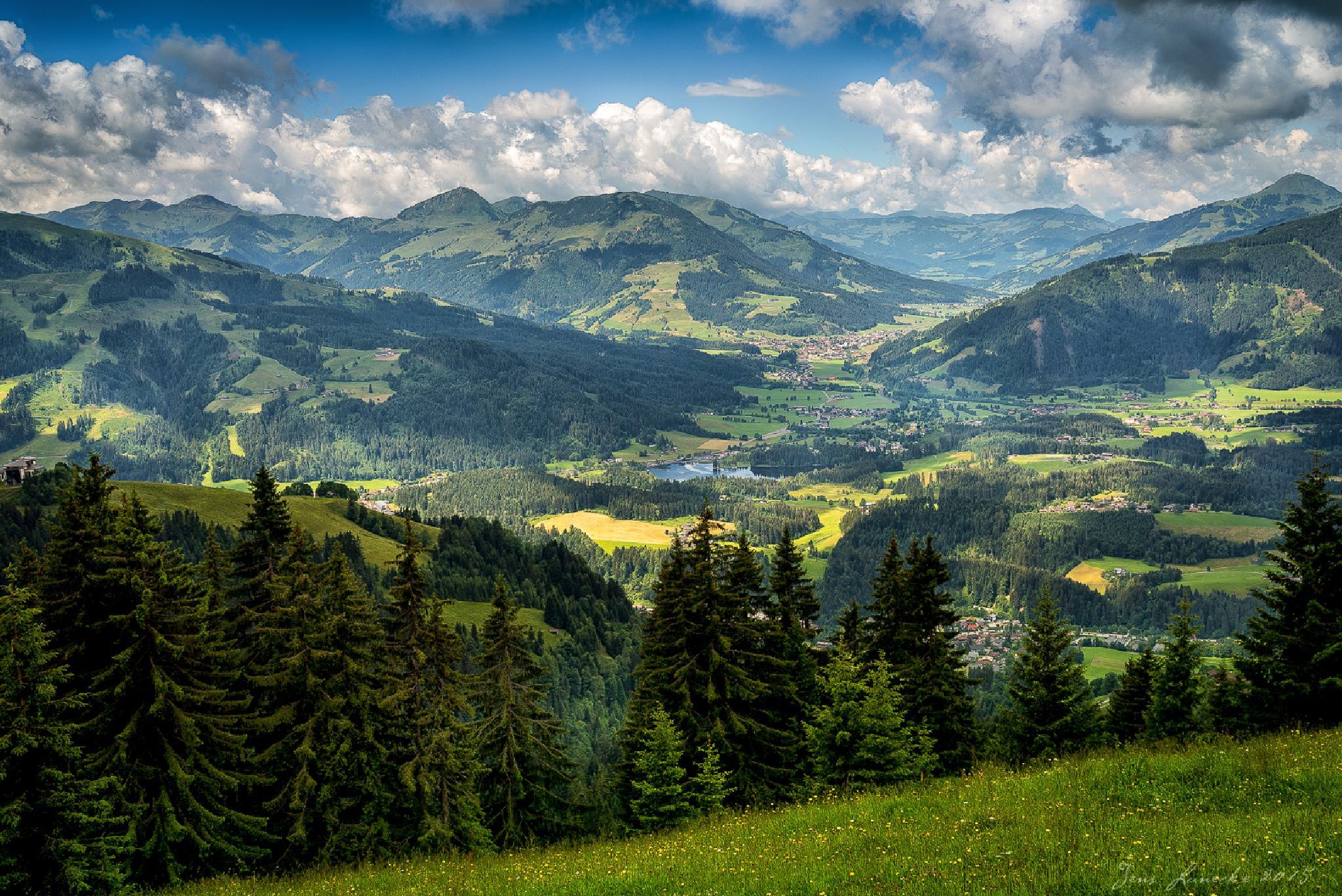 Kitzbühler Alpen, Austria by jlunecke