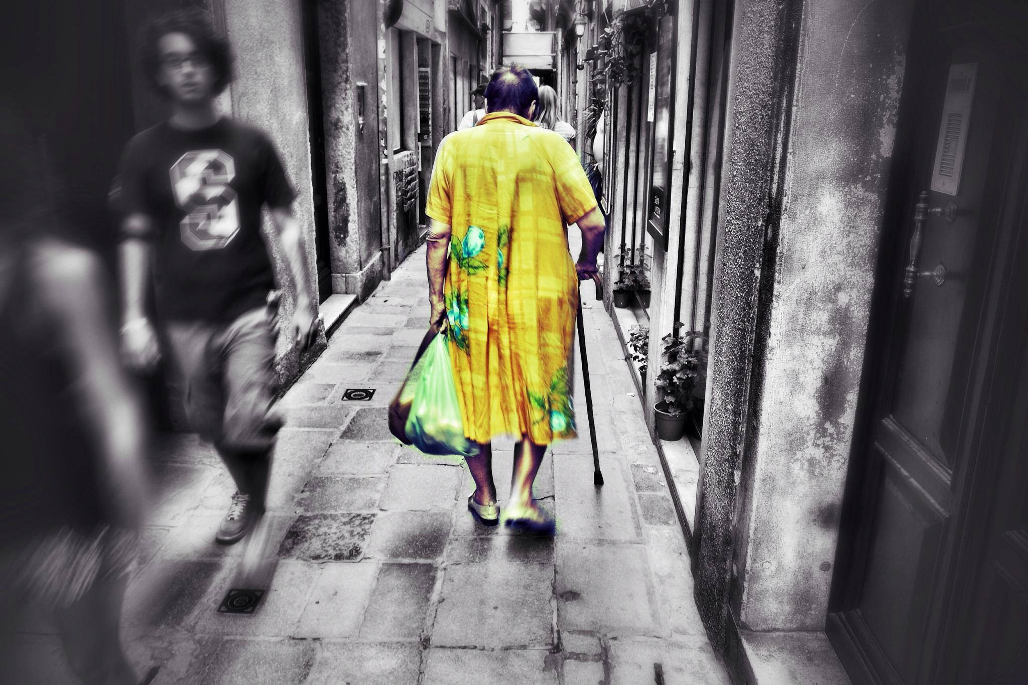 Oldwoman  by Wojtek1967