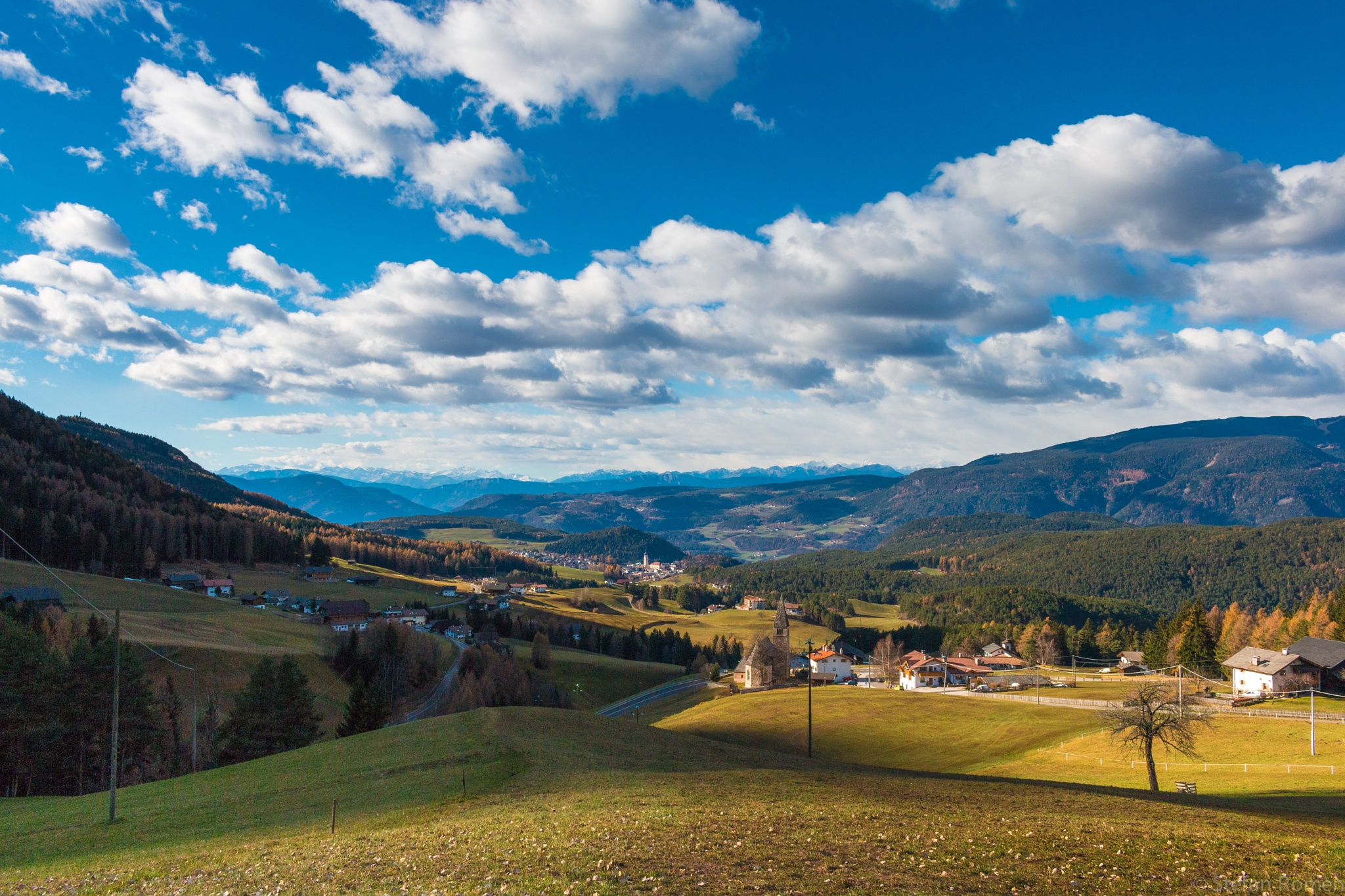 Castelrotto and surroundings by romenstefan