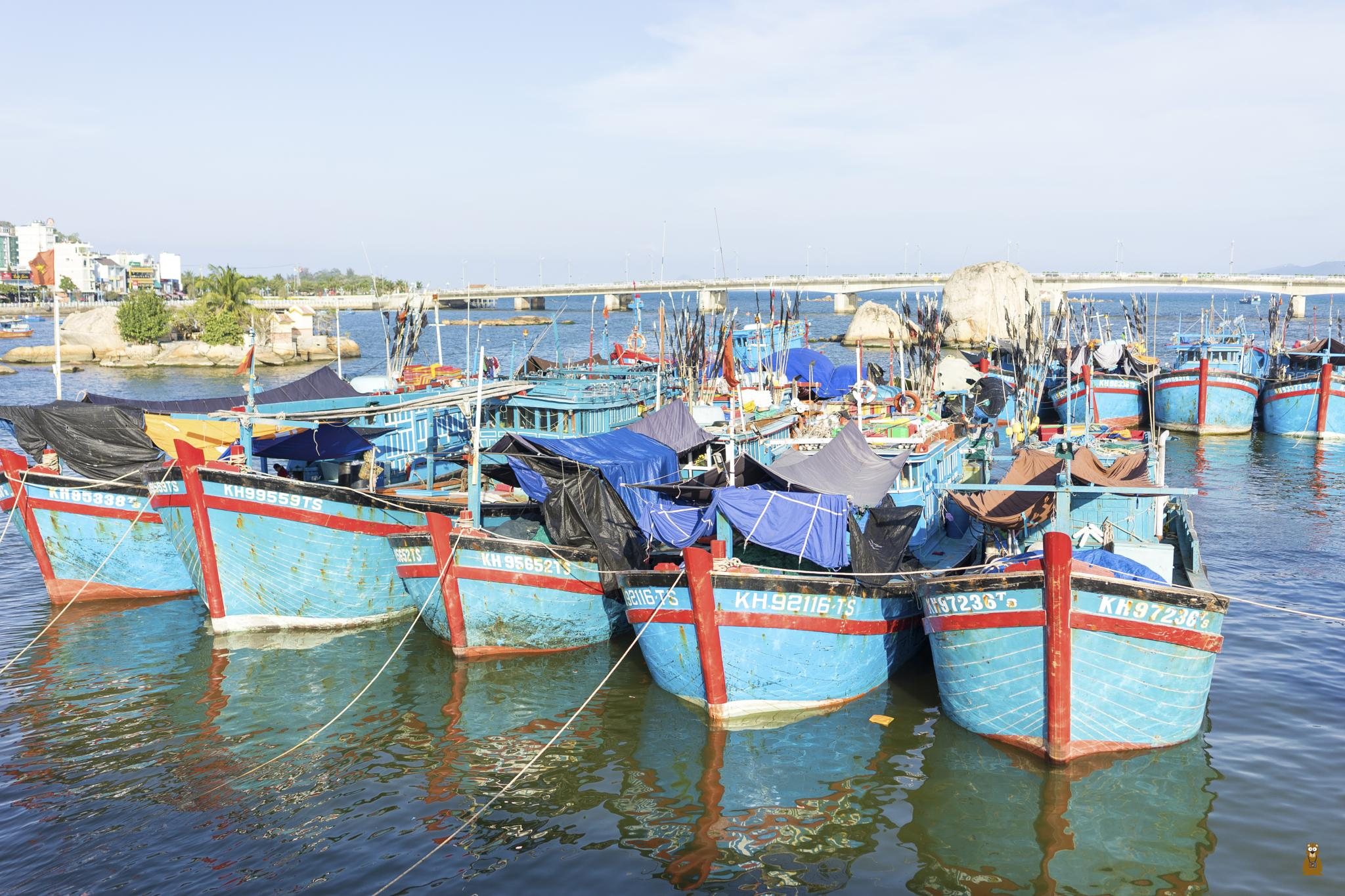 Boats by Dung Tuan Pham