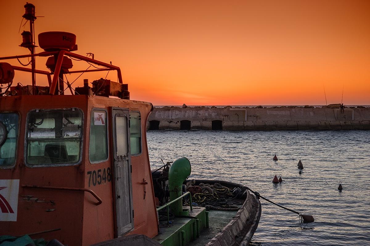 Port Yafo by David Solodar