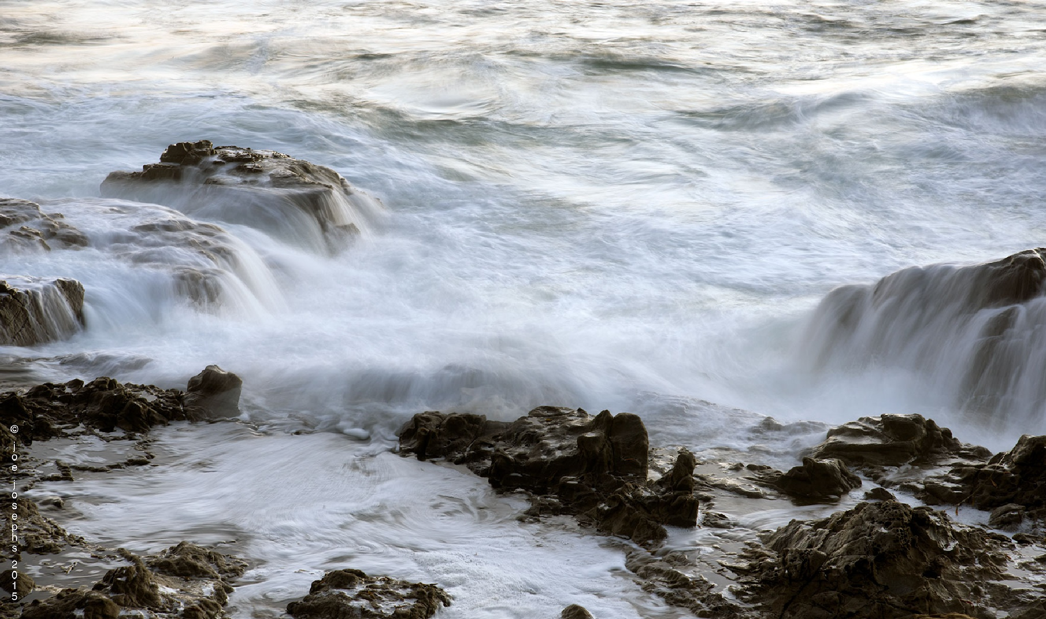 Tidal Rush by JoeJosephsPhotography