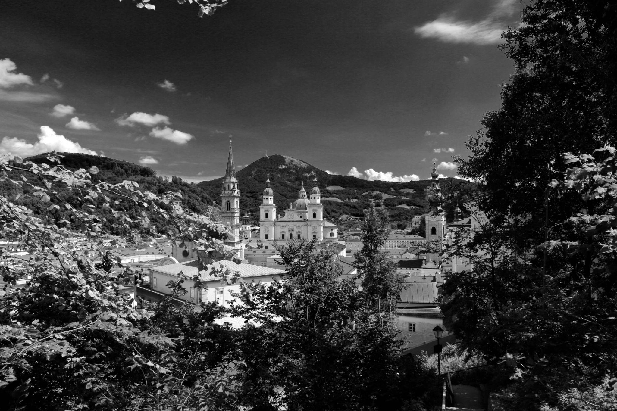 Salzburg von oben by Jürgen Cordt