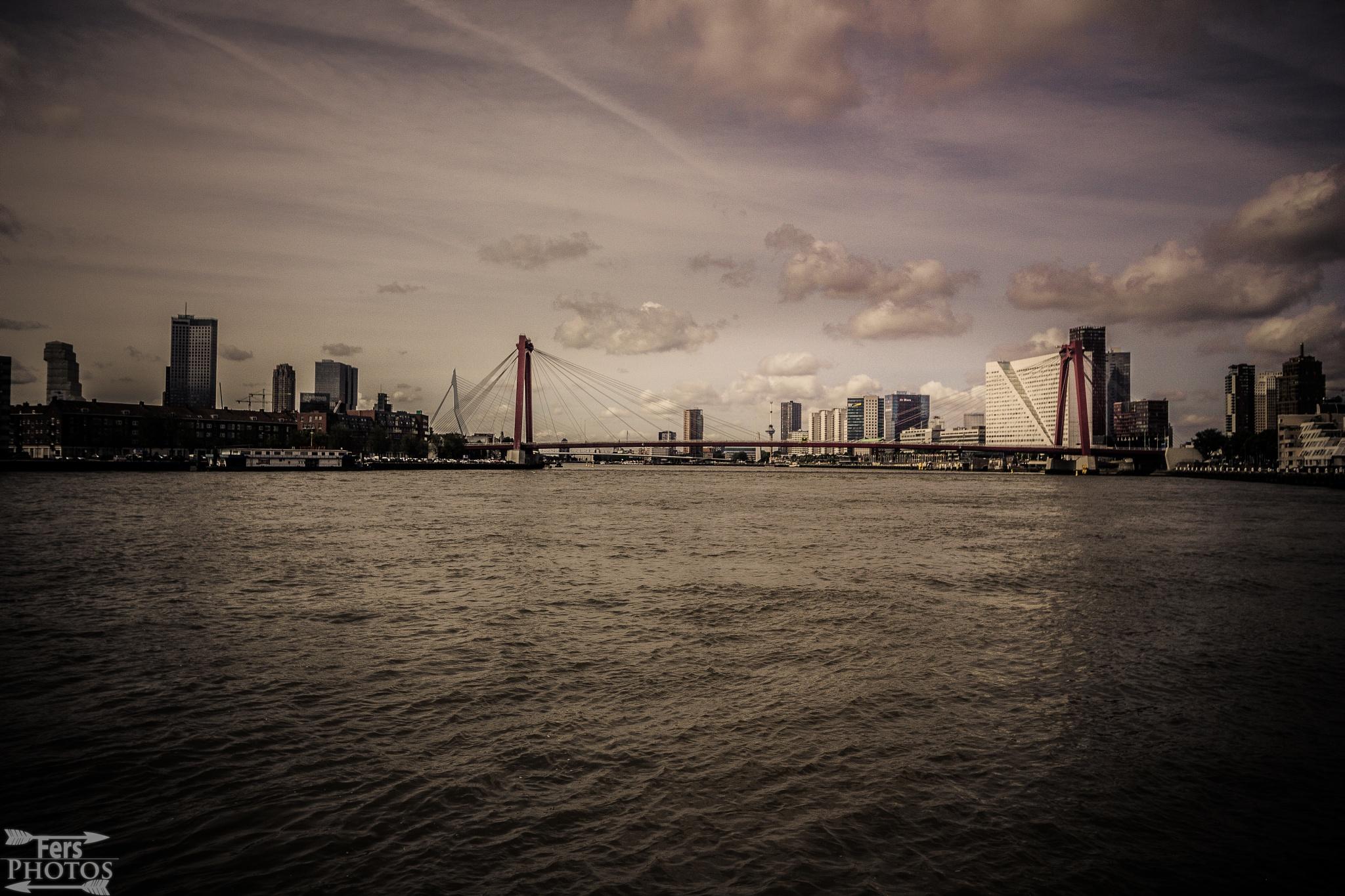 Rotterdam (dramaticz edit)  by Fer Herwaarden
