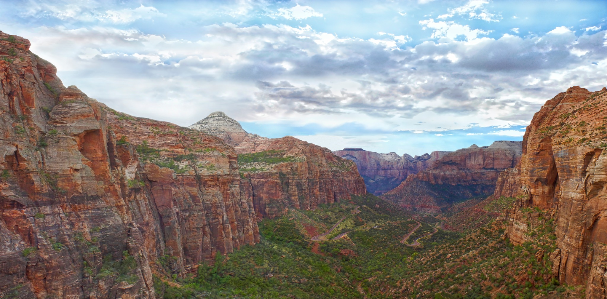Zion Overlook by Christine C. Abad
