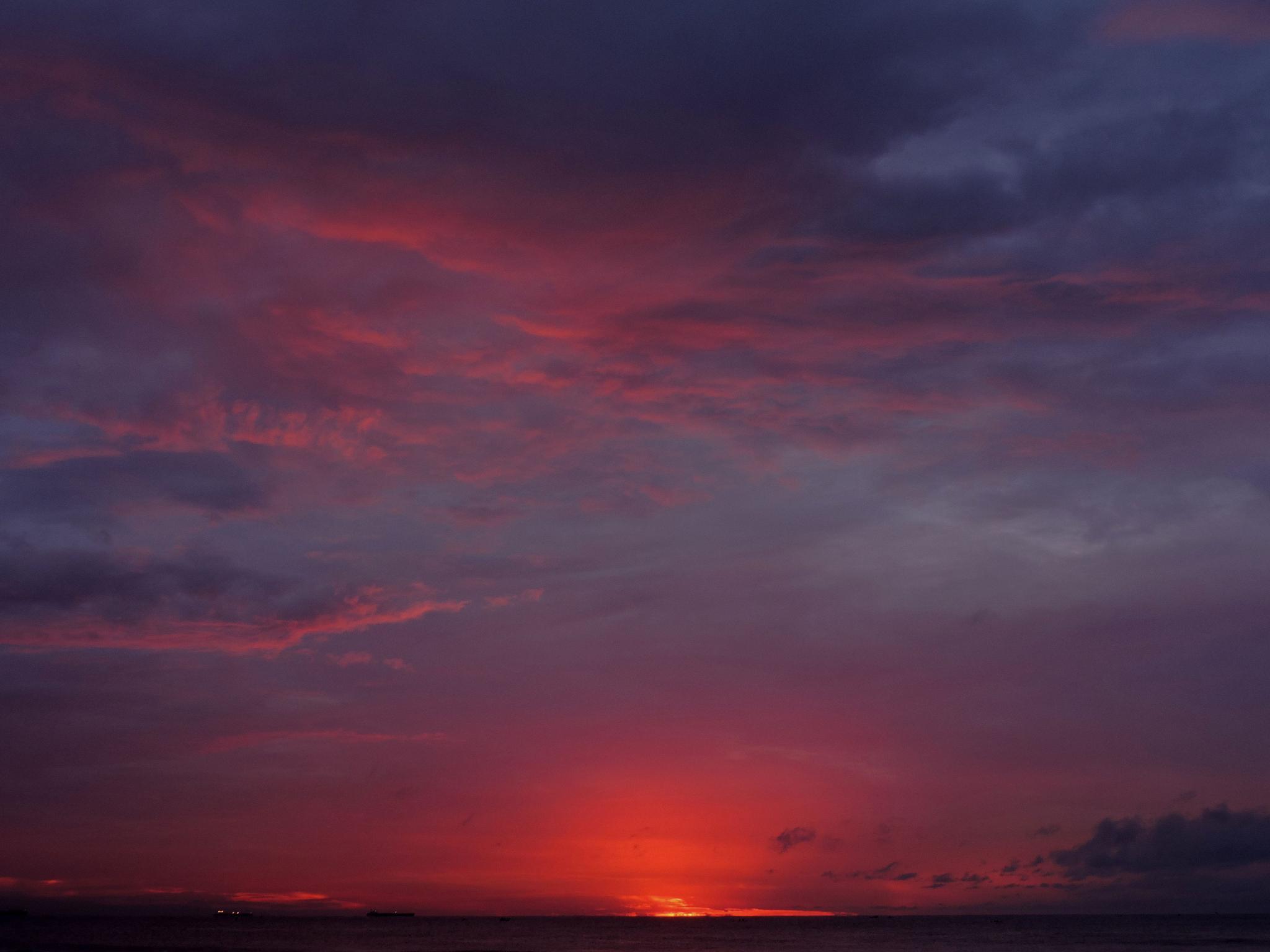 sunrise at 5.45 am, chennai India by annapoorna.sitaram