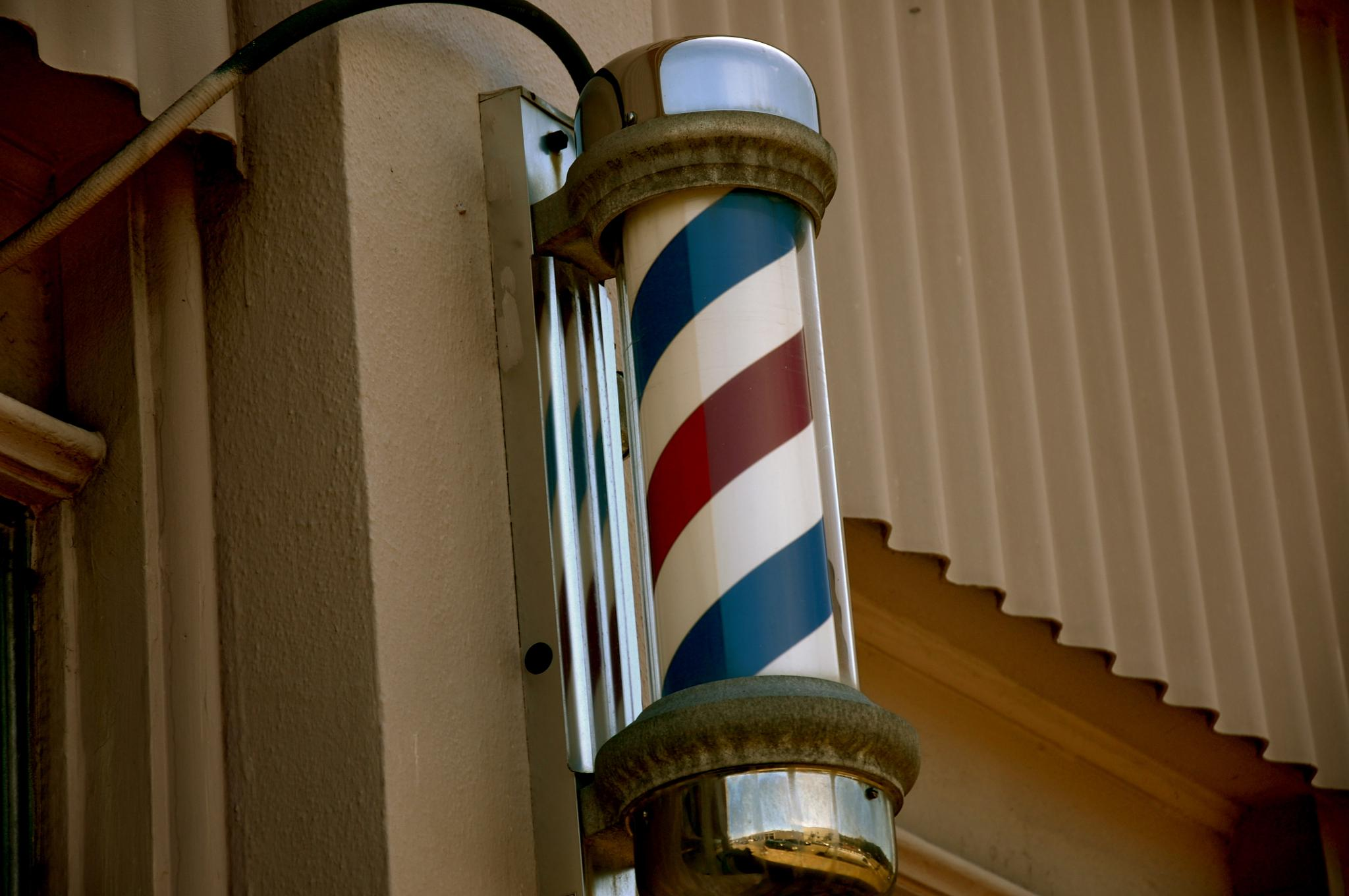 Barber Pole by Gary Phillips