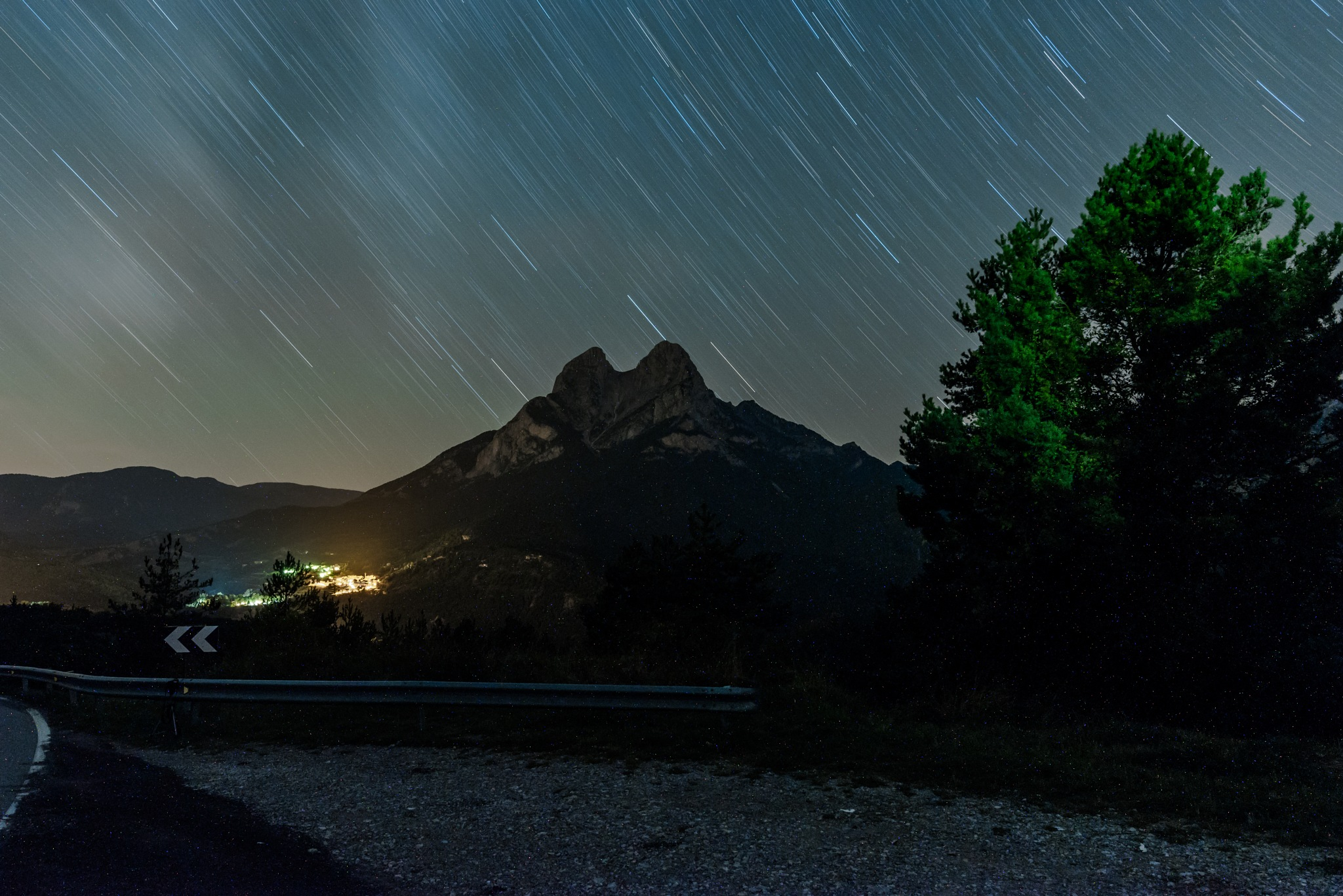 Long exposure in Iconic mountain by Rubèn Jaume Montes Garcia