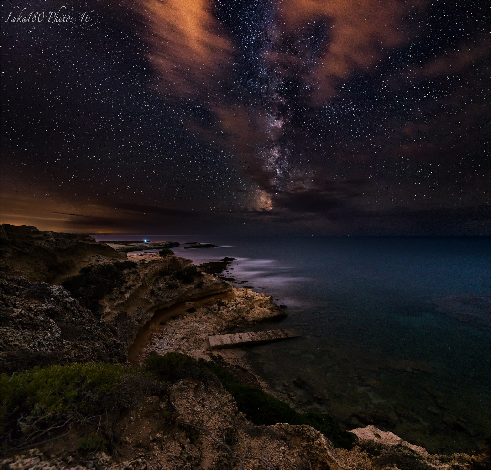 Capo Mannu Milkyway by Luca Sanna
