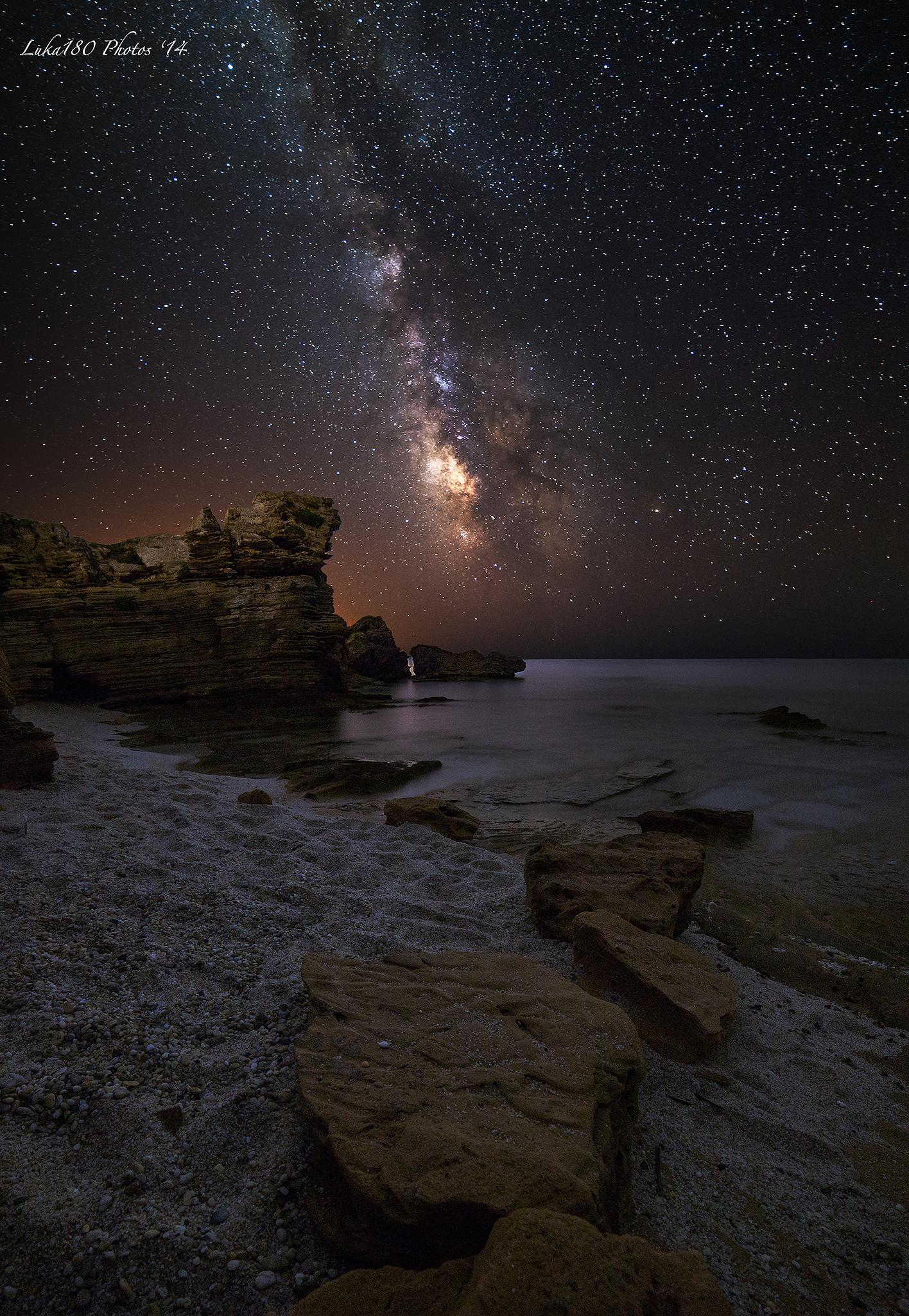 Sinis MilkyWay by Luca Sanna