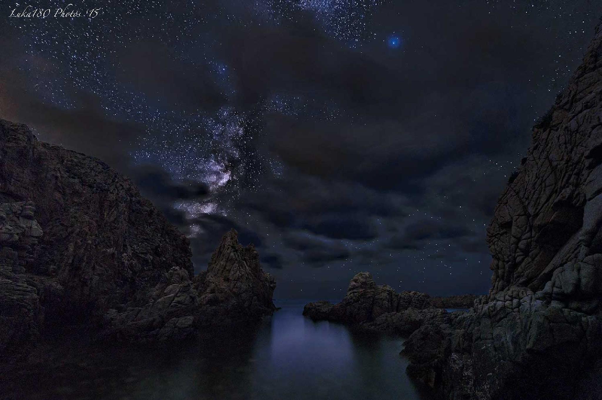 Capo Pecora MilkyWay by Luca Sanna