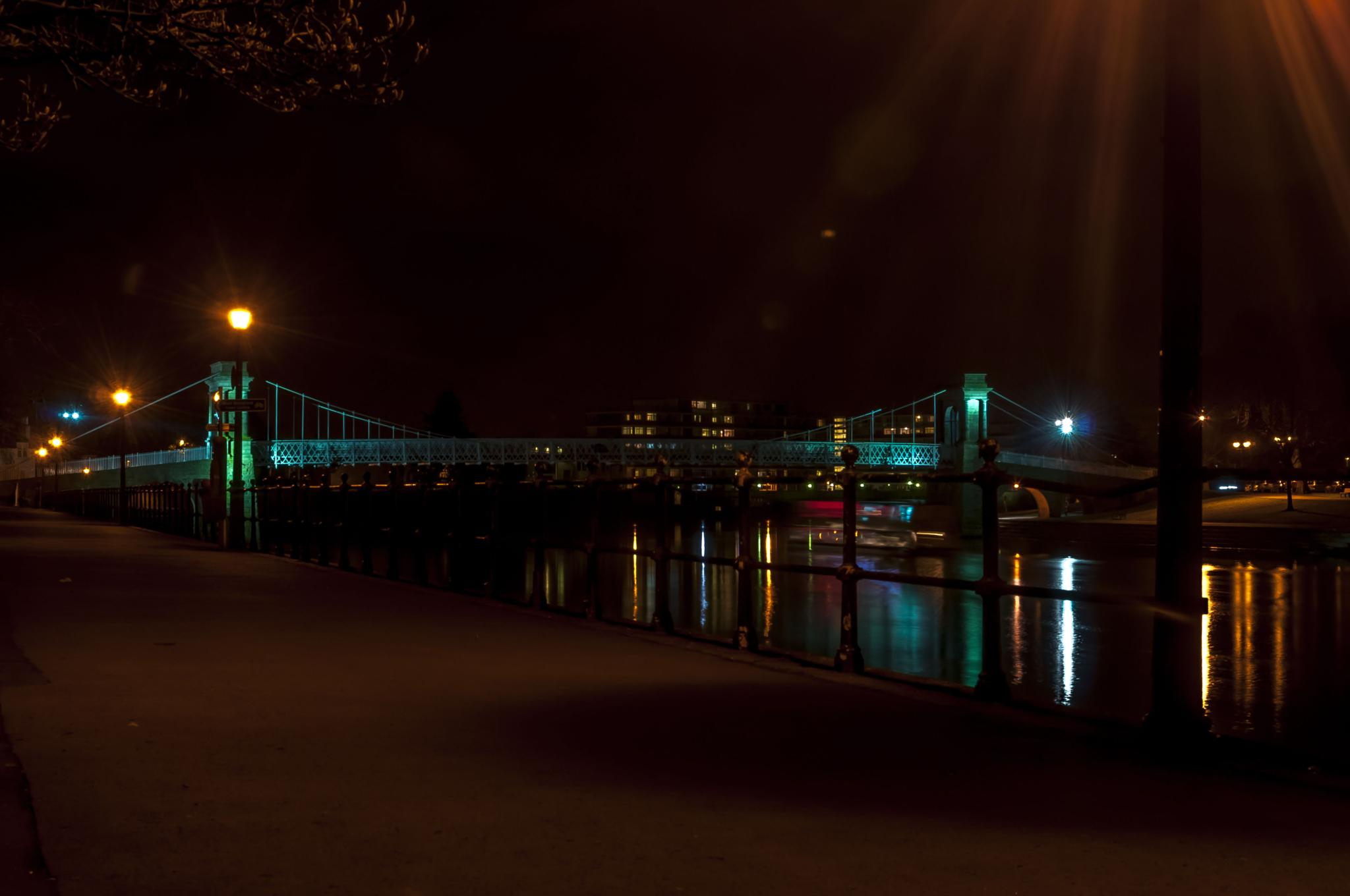 Trent Suspention Bridge by Pete Feeny