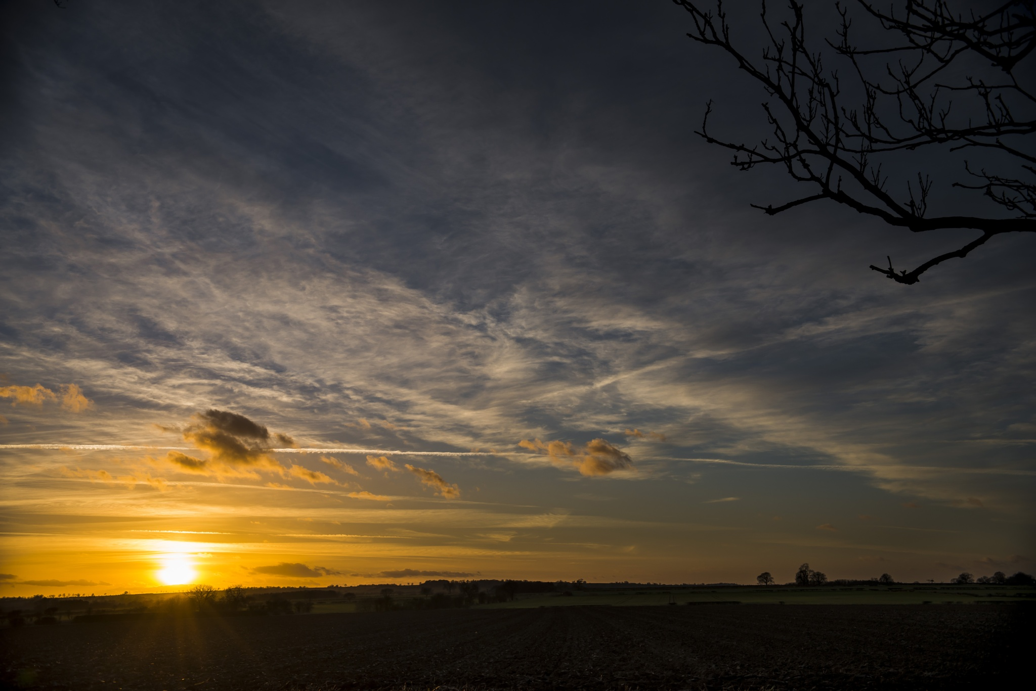A Little Sunset by Pete Feeny