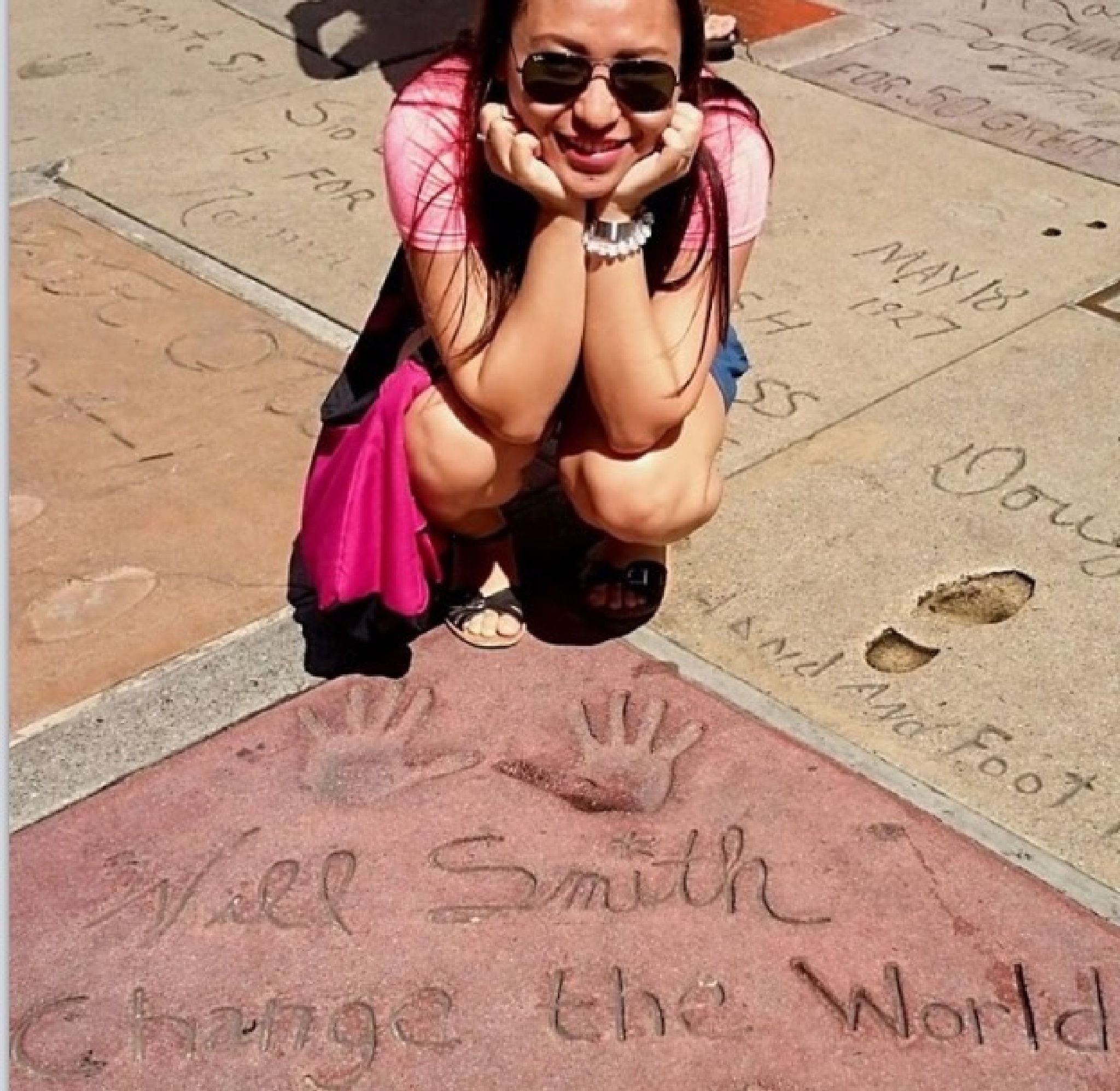 Cristel at walk of fame by jimbo.velasquez.1