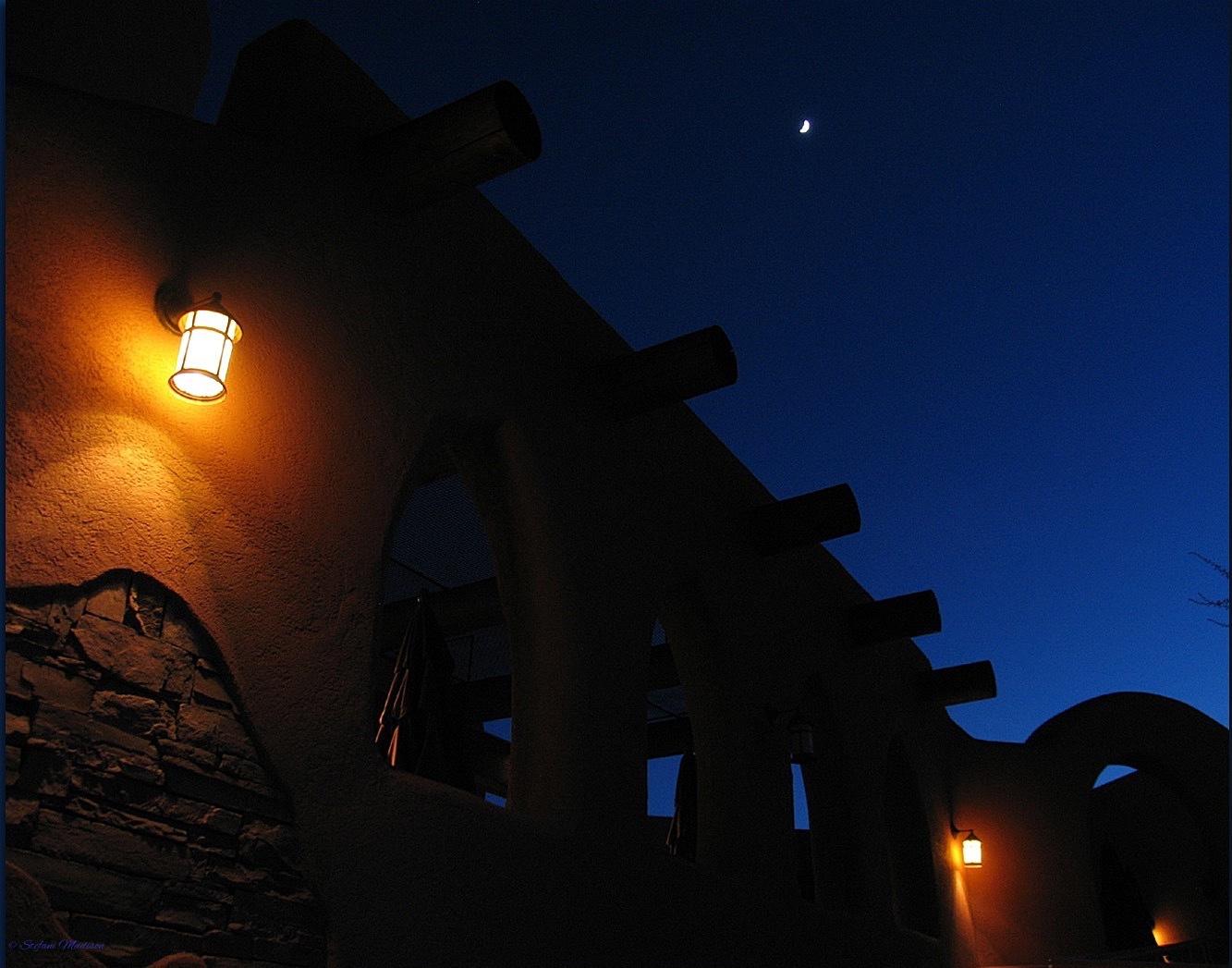 Lamp Shadows by Stefani Madison
