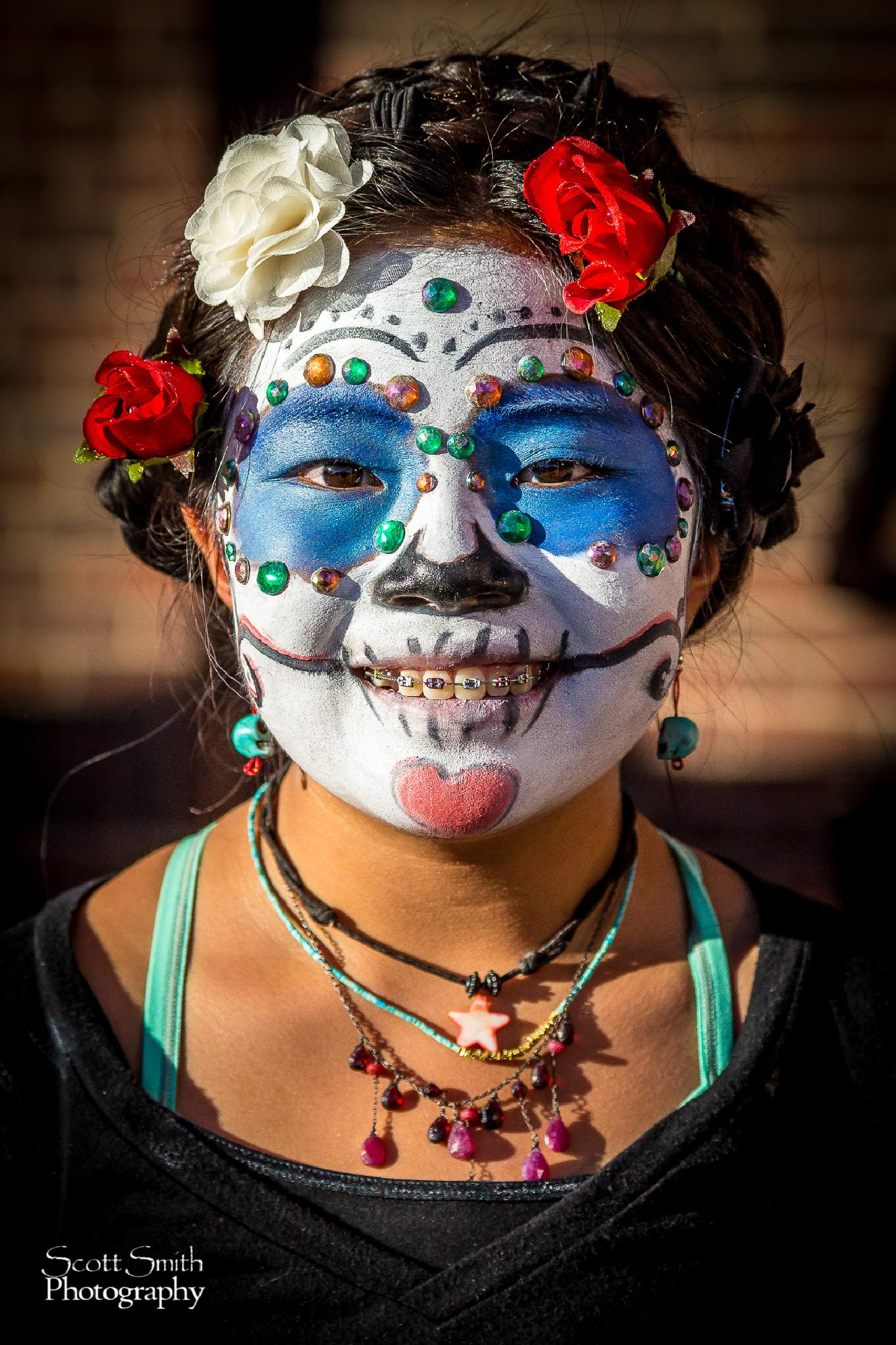 Halloween Face by Scott Smith Photography
