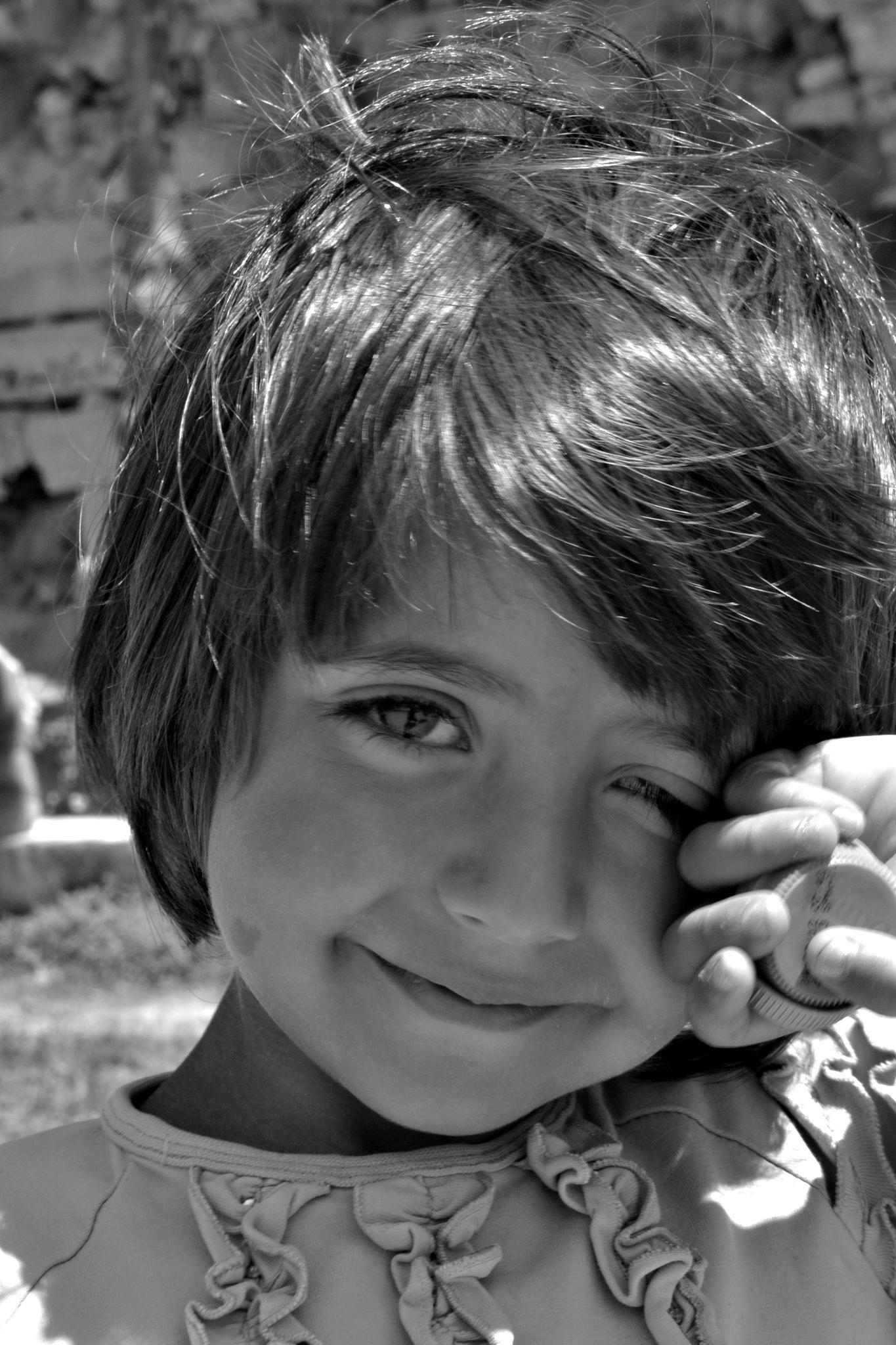 Gipsy girl. by A.Hikmet Karaca