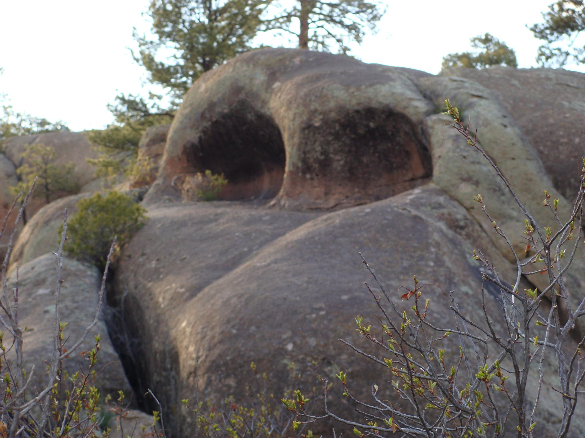 King Kong's Nose   Penitente Canyon, Colorado by Brandon W. Ross