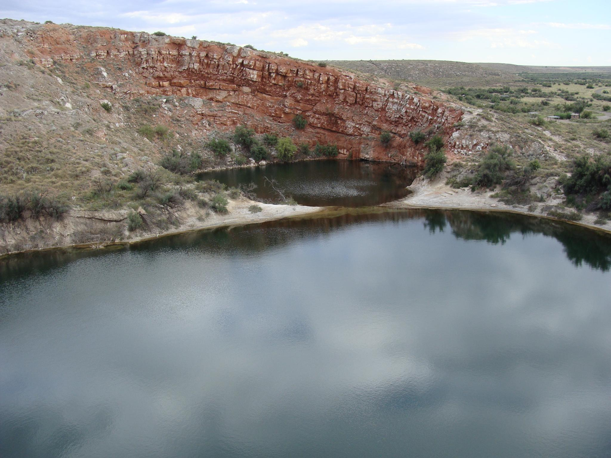 Crater Lakes, New Mexico by Brandon W. Ross