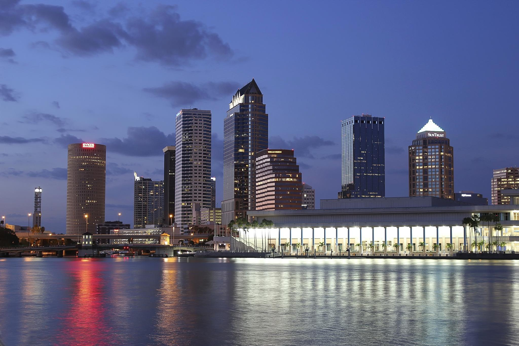 Tampa Night Life by Dean Wiley