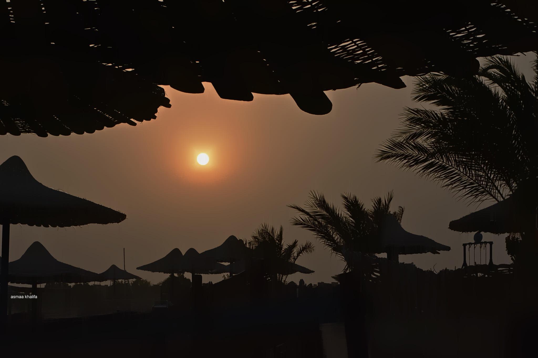 Sunset by asmaa.khalifa.7