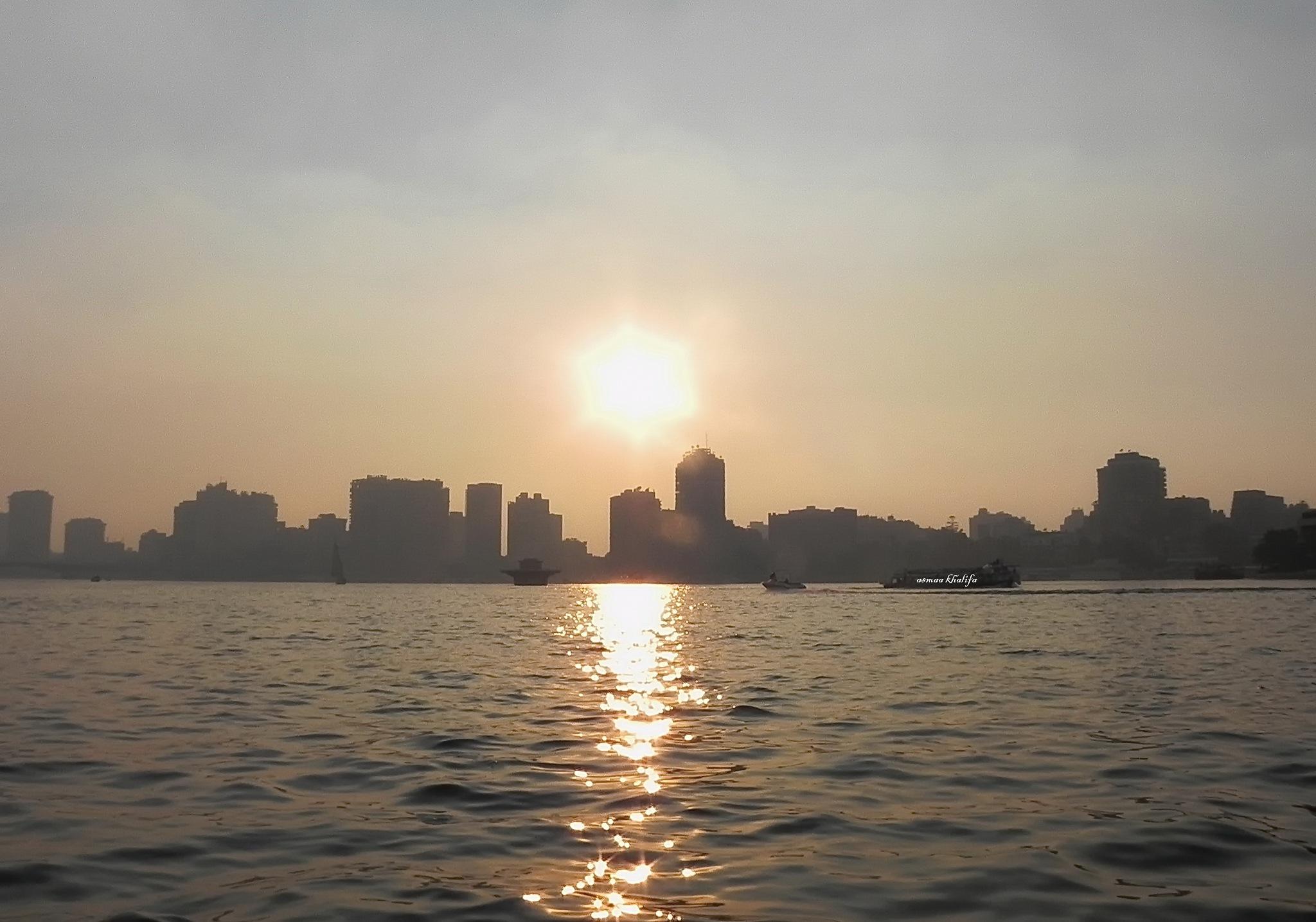 Neil Cairo at sunset - ُEgypt by asmaa.khalifa.7