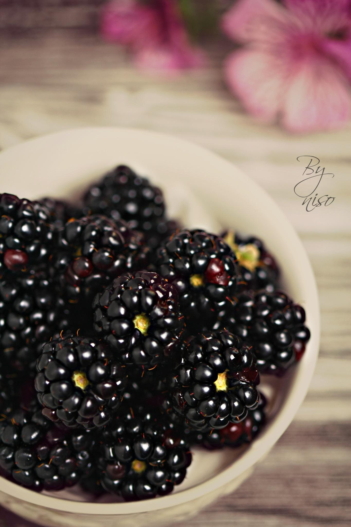Blackberries by Nisreen Rahhal