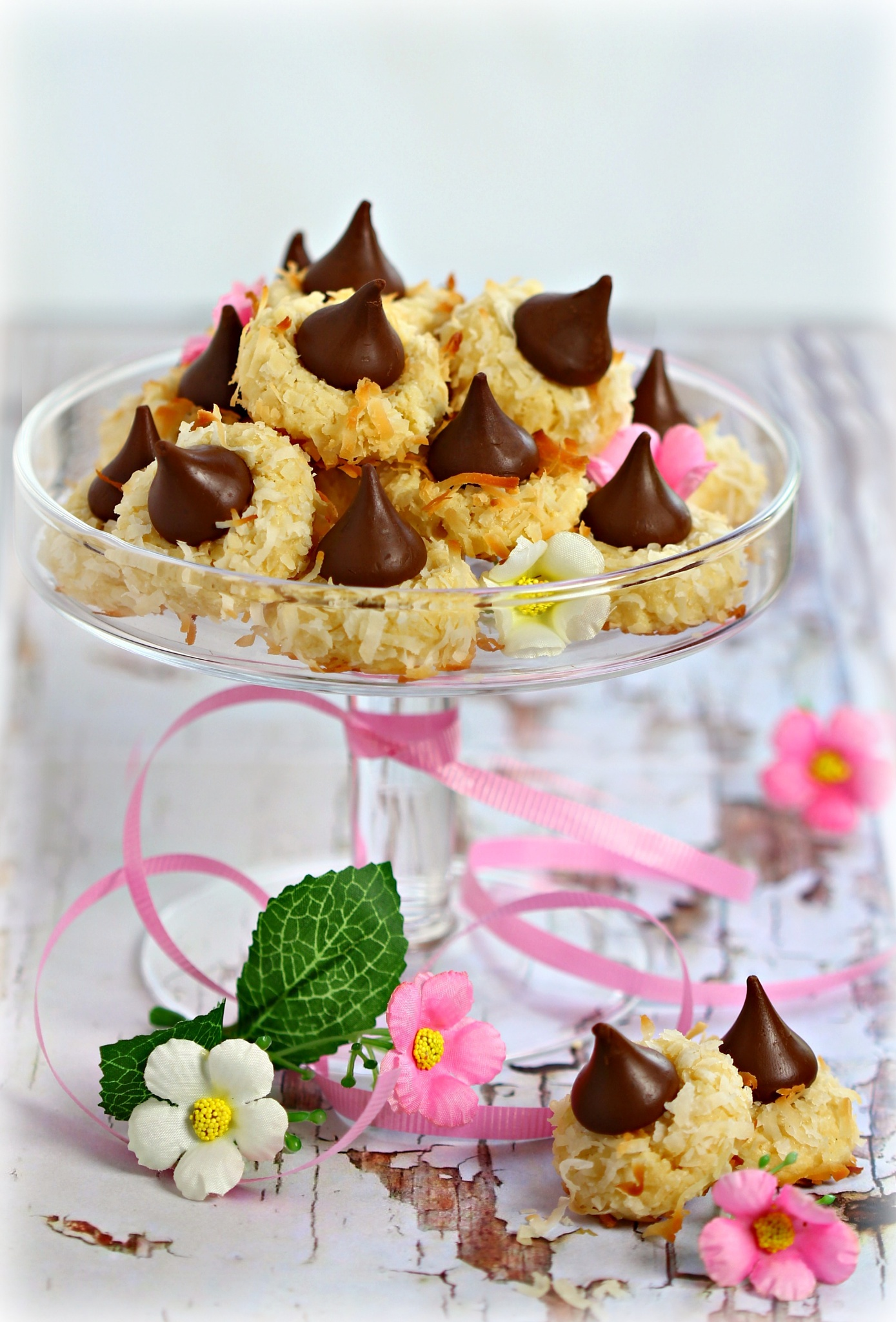 coconut kisses cookies by Nisreen Rahhal