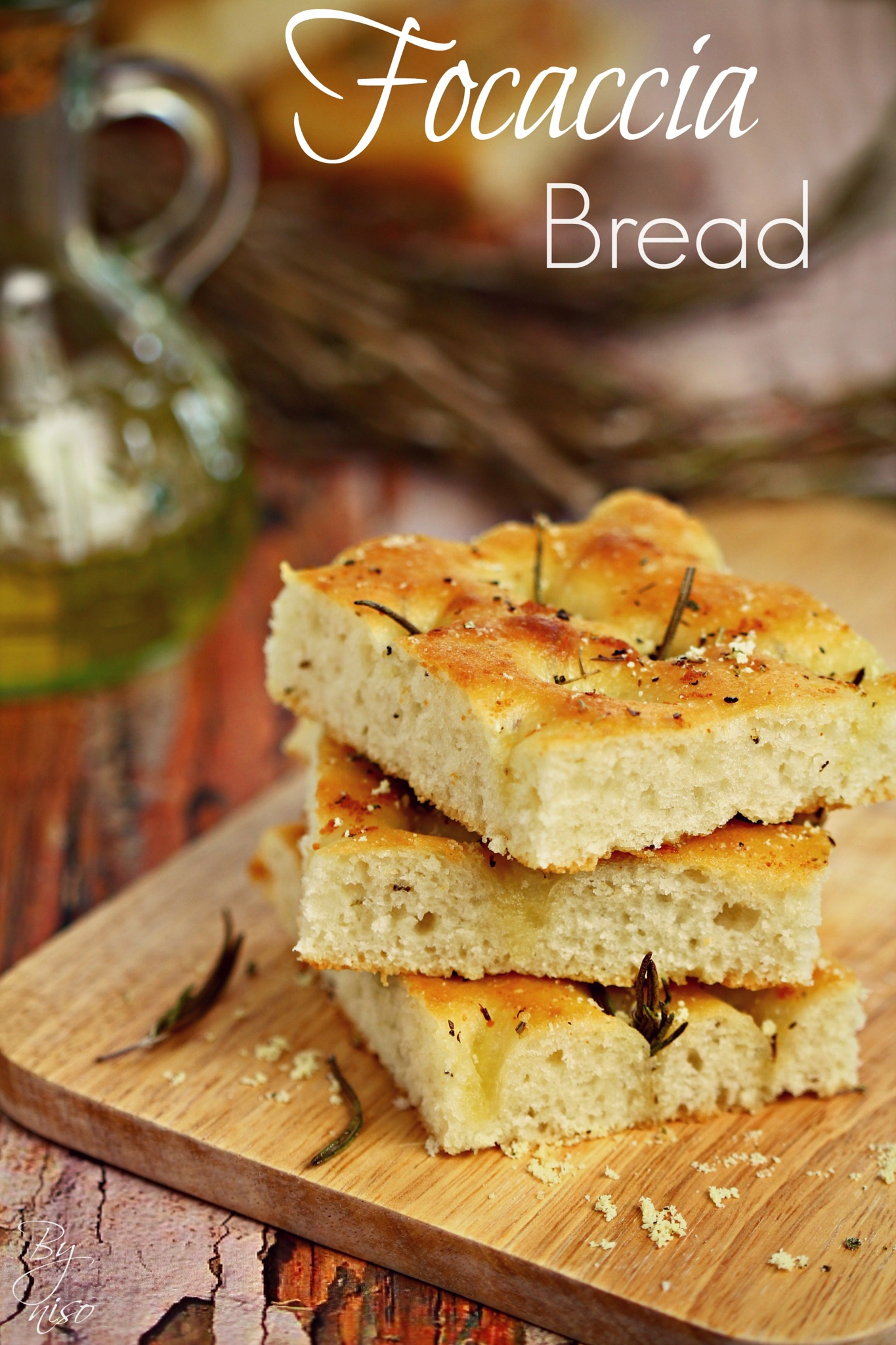 Focaccia bread by Nisreen Rahhal