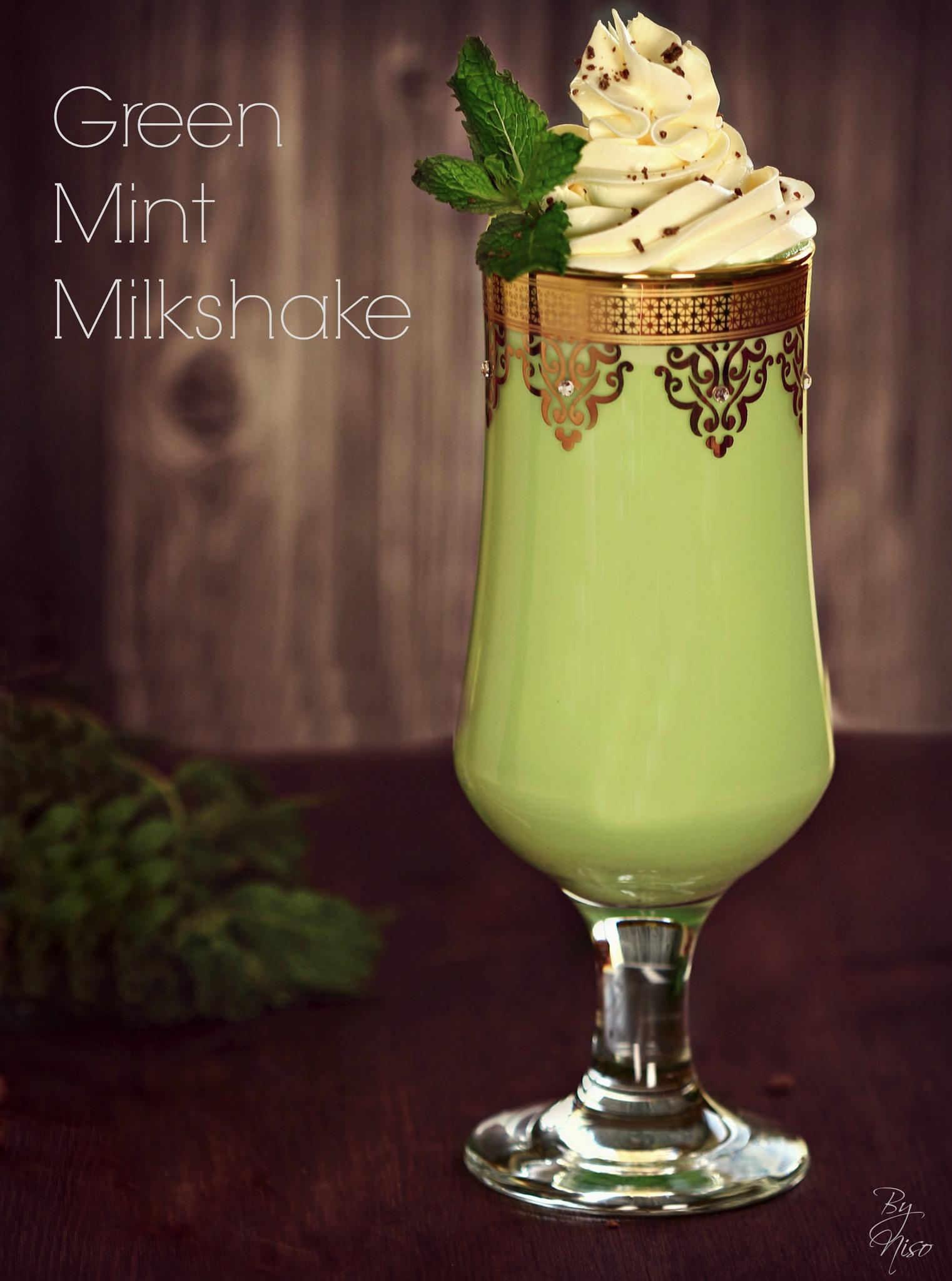 mint milkshake by Nisreen Rahhal