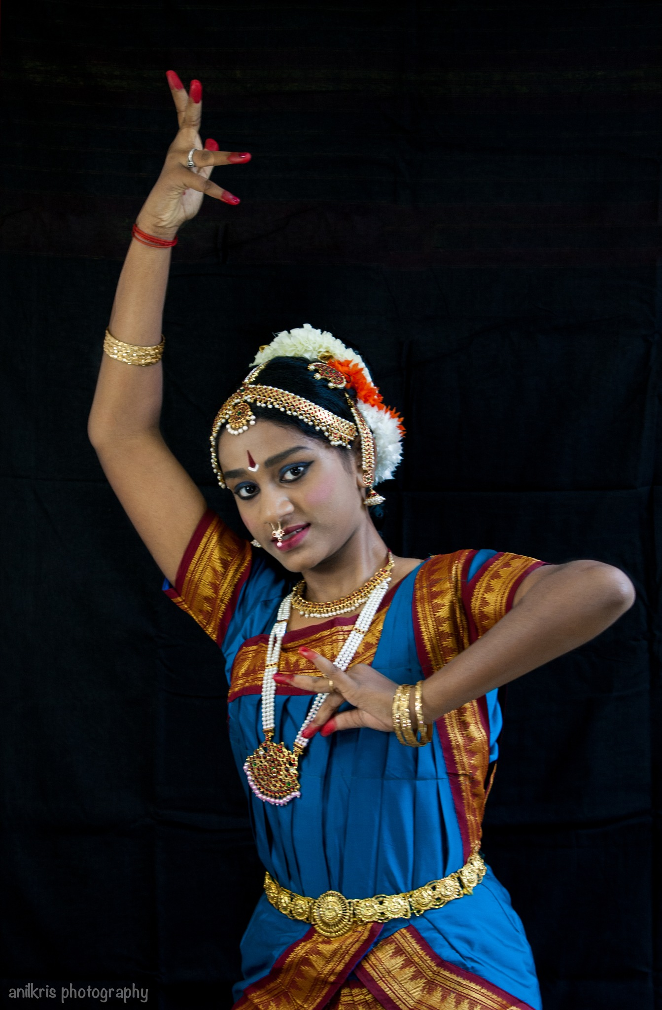 Bharatanatyam Dancer by anilkris photography
