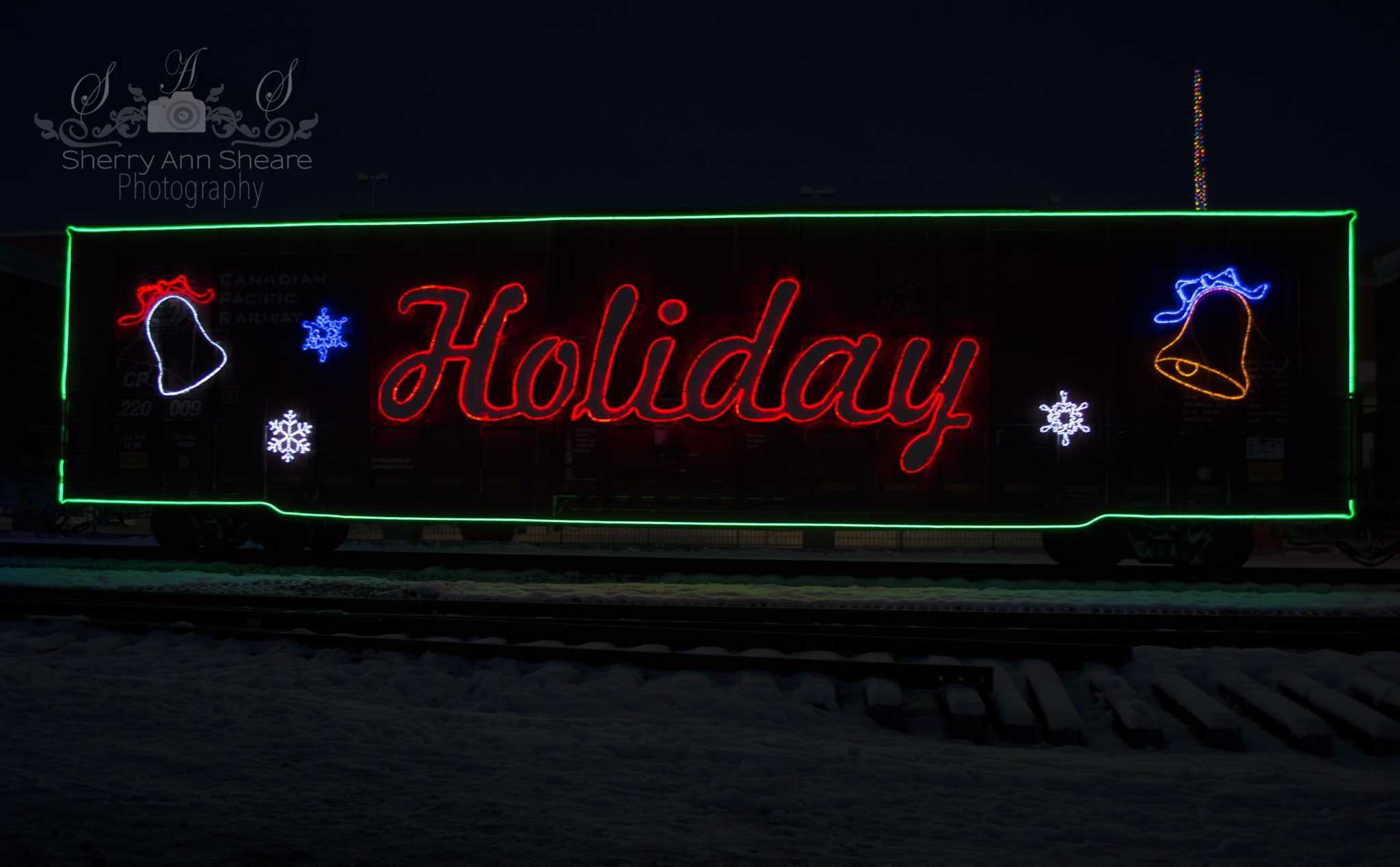 Holiday Train by Sherry Ann Sheare