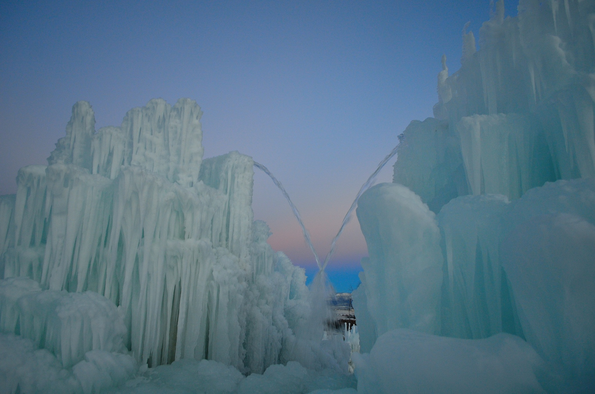 Ice castles in the sky by Periwinkle