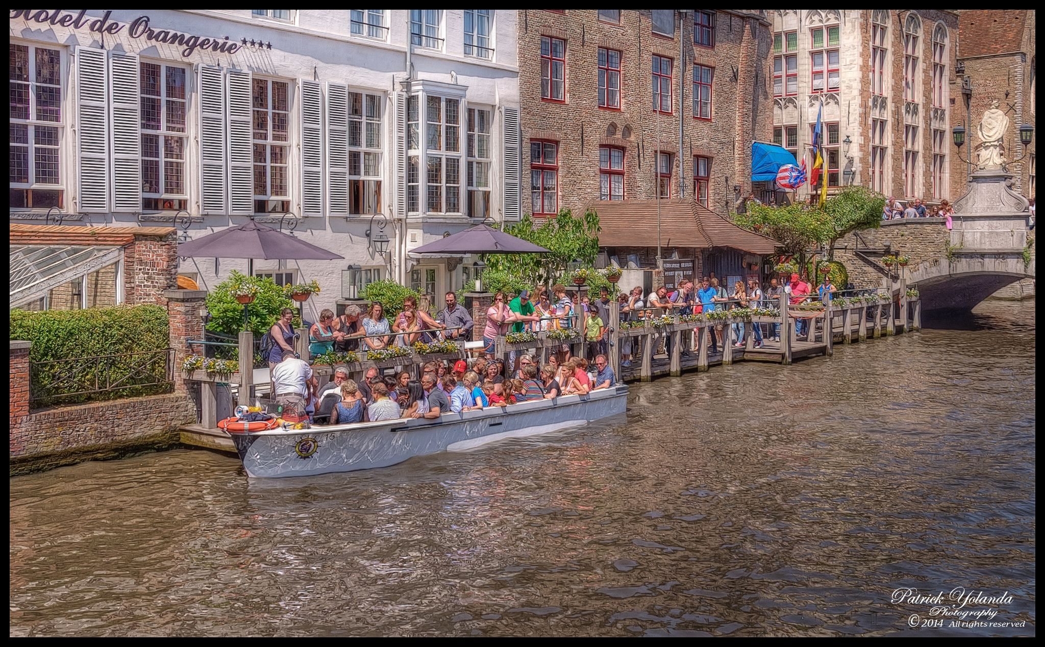 ...Bruges Boat tour... by patrickyolanda