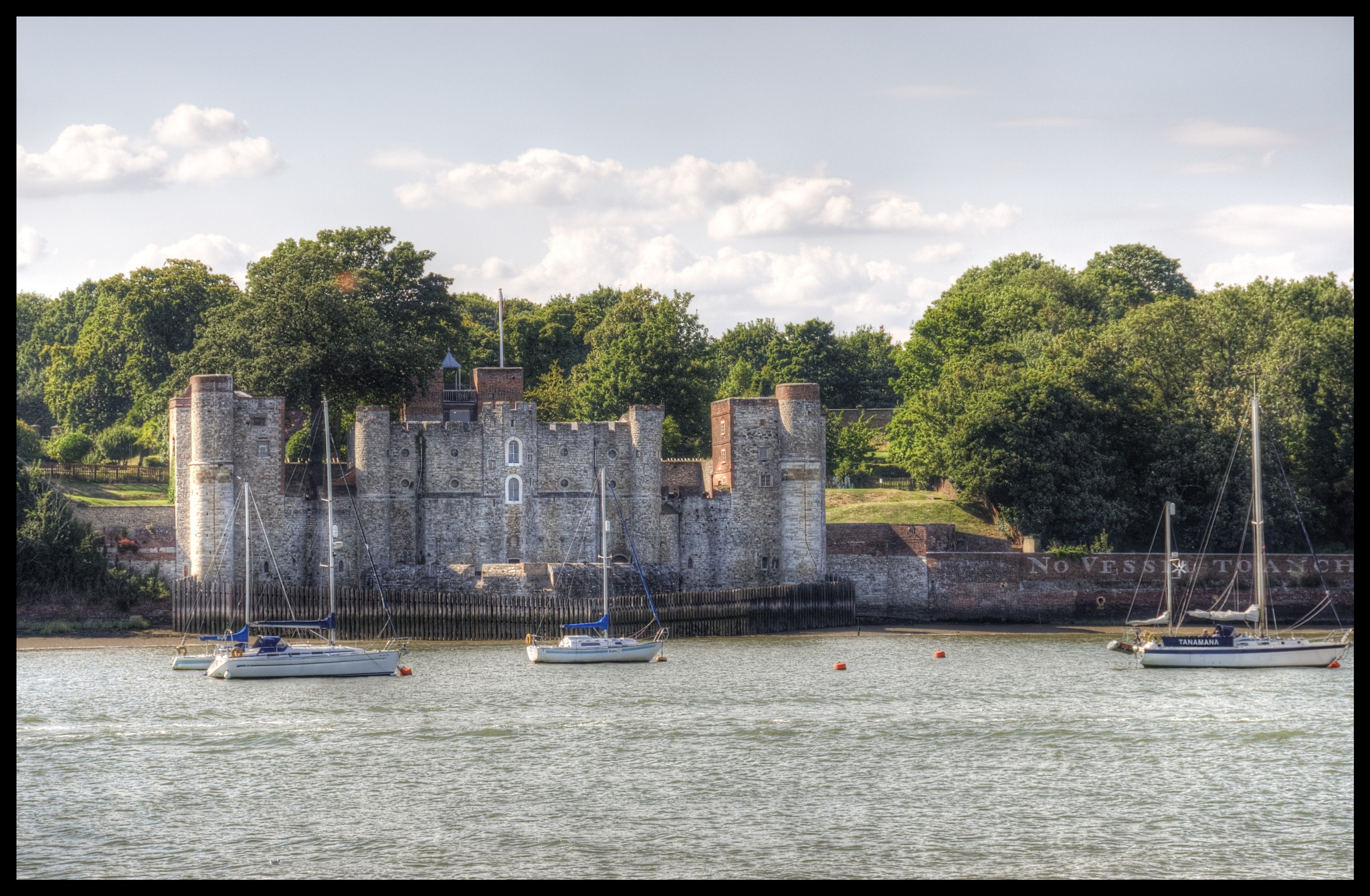 Upnor castle, Chatham UK. by patrickyolanda