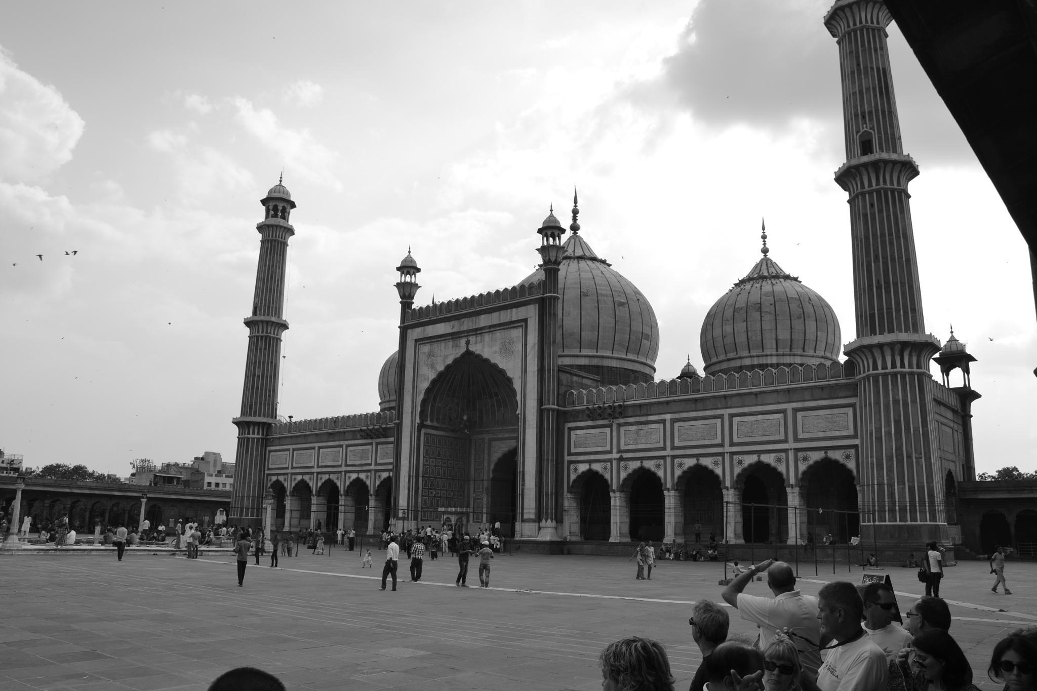 Mezquita de Dheli by xemariagil