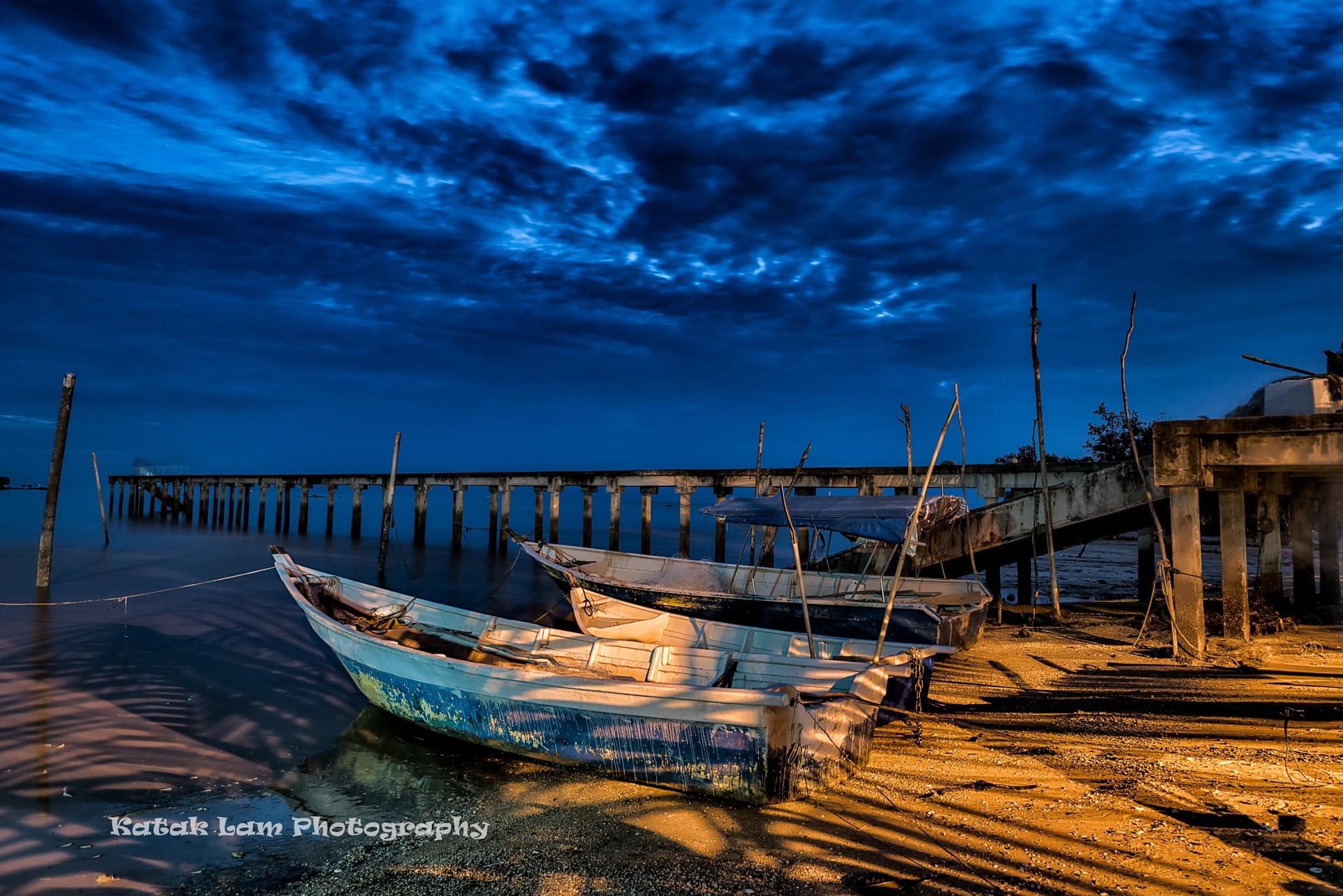 Good Night Fisherman by stevenlam.katak